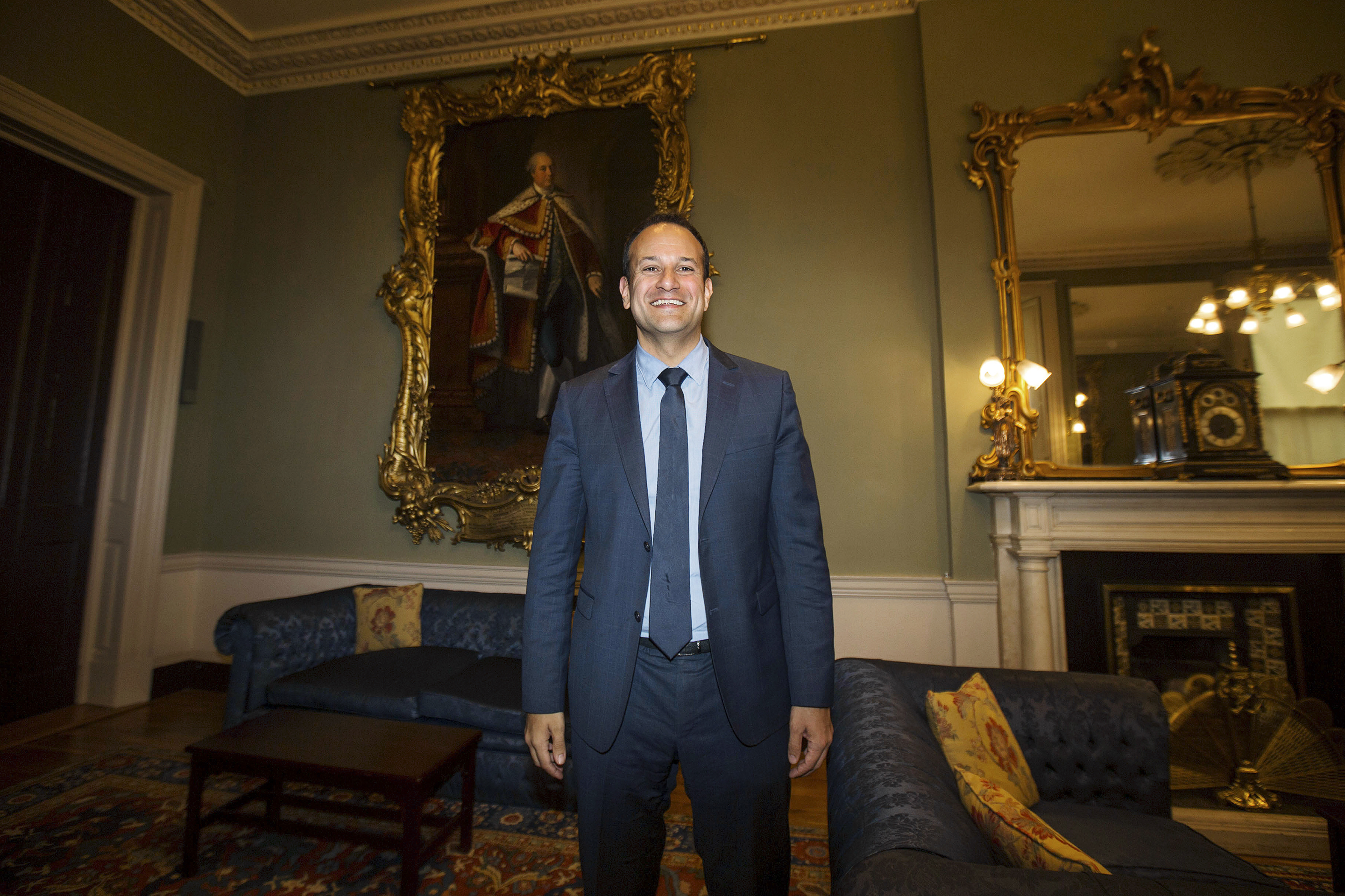 Leo Varadkar is an Irish Fine Gael politician. Following the retirement of Enda Kenny, he was elected as Leader of the Fine Gael Party on 2 June 2017.