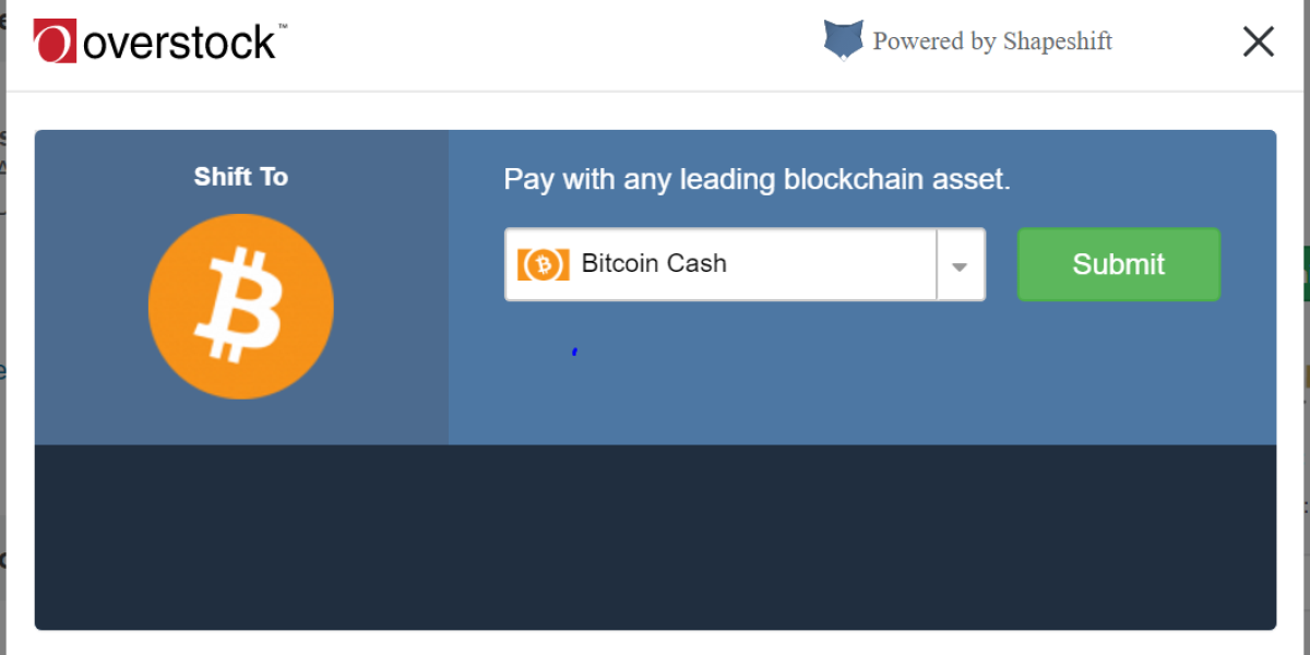 how does overstock.com classify cryptocurrencies