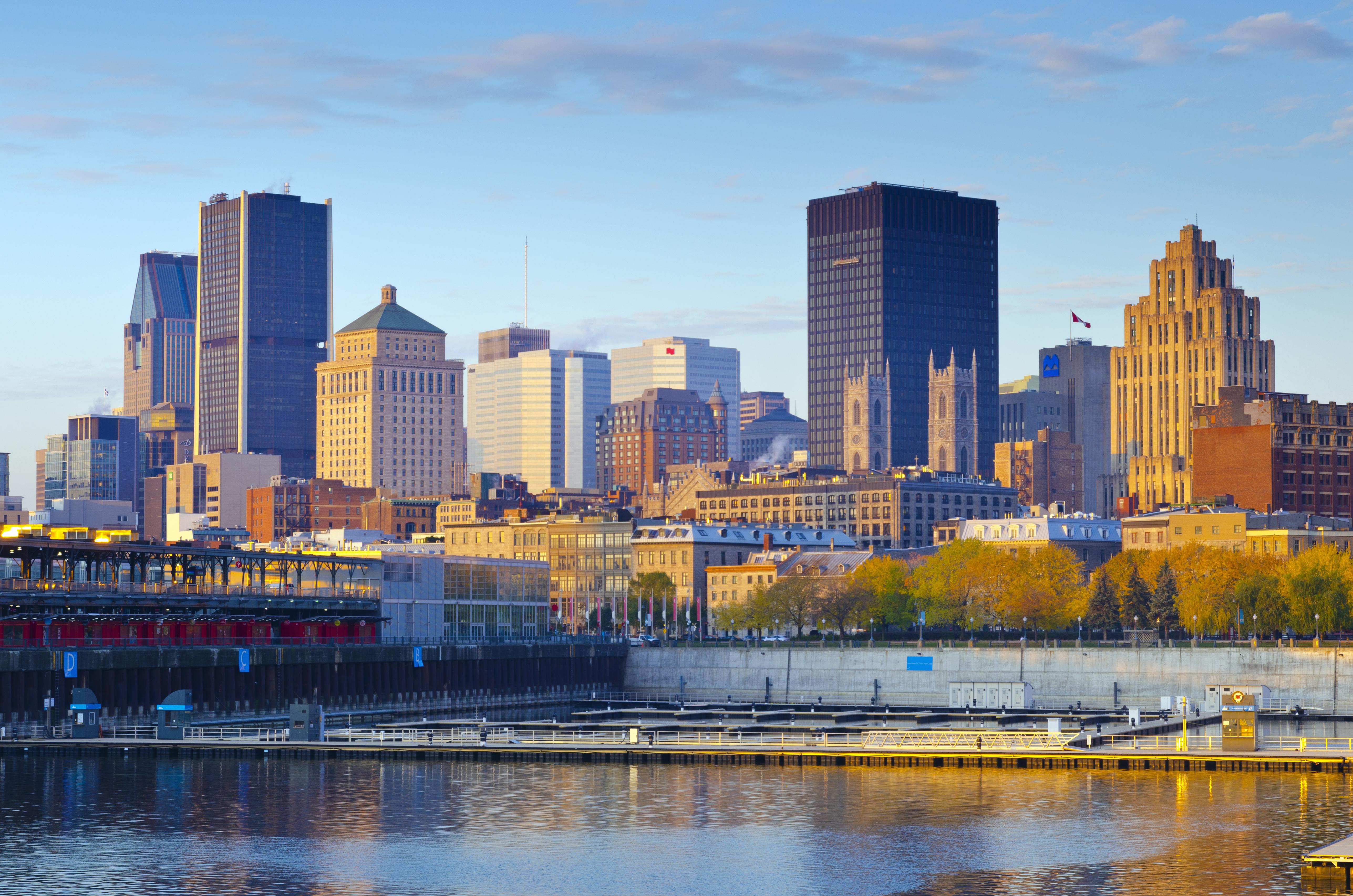 Montreal, Old Port and Modern Skyline