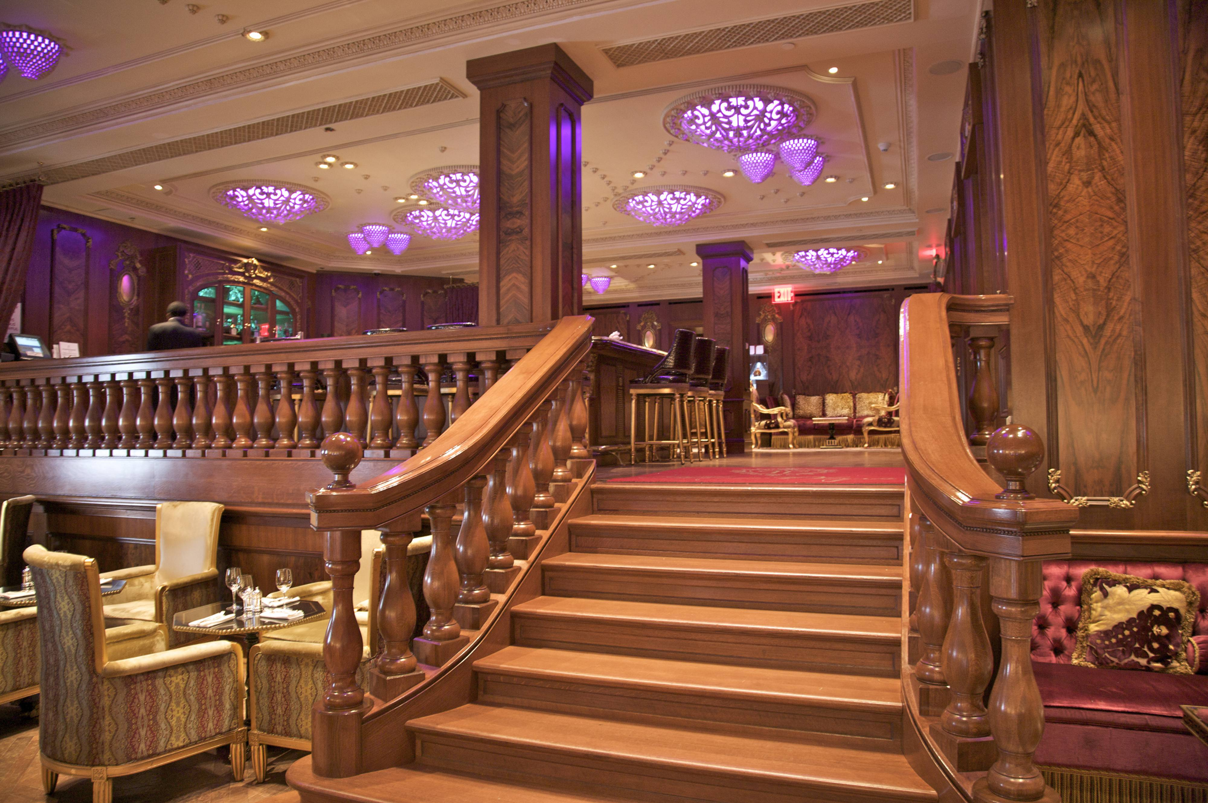 Staircase, The Plaza Hotel, Grand Army Plaza, New York, NY