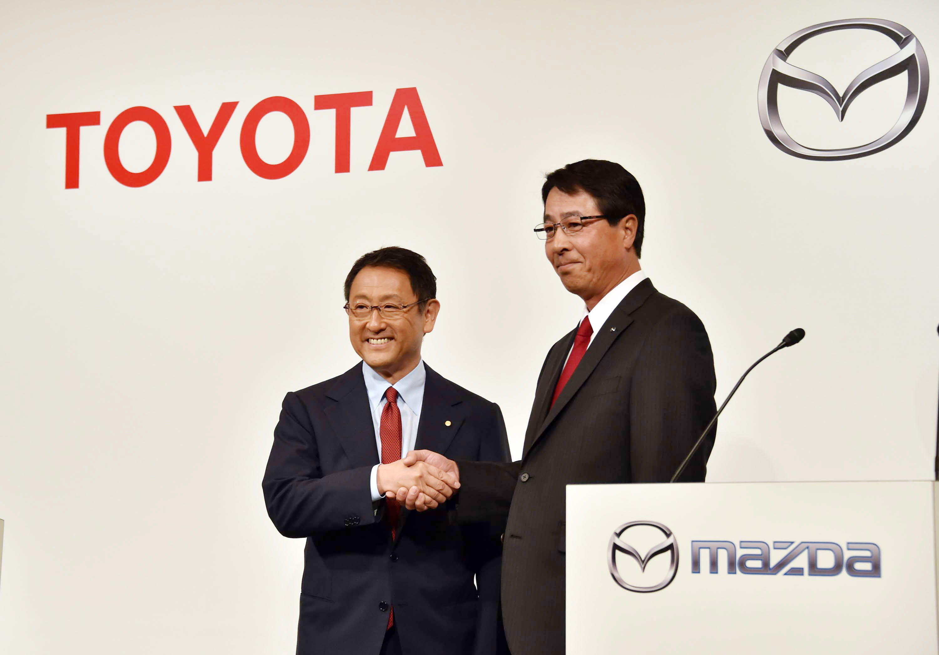Tokyota motor co and Mazda motor corp