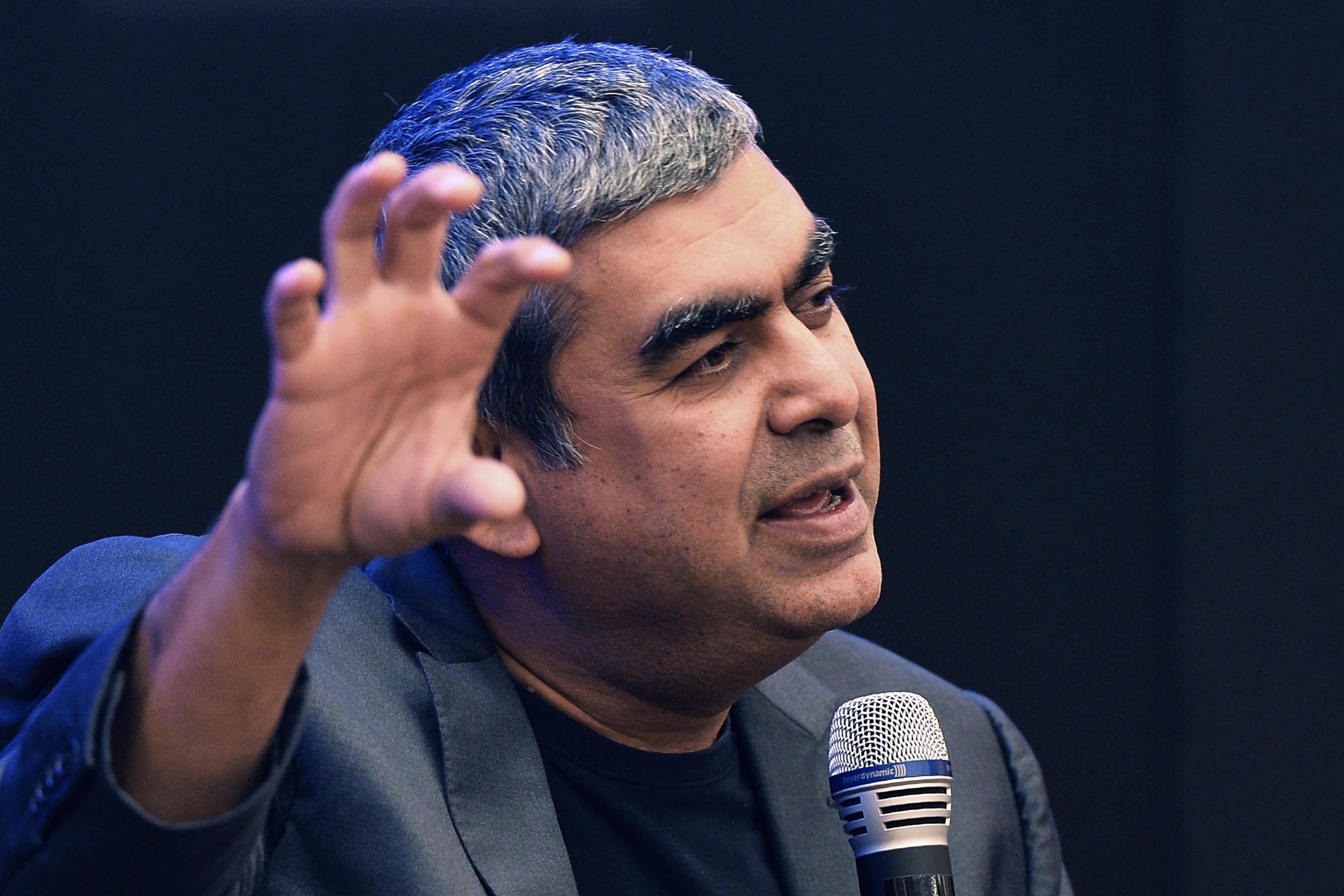 INDIA-ECONOMY-INFOSYS-RESULTS