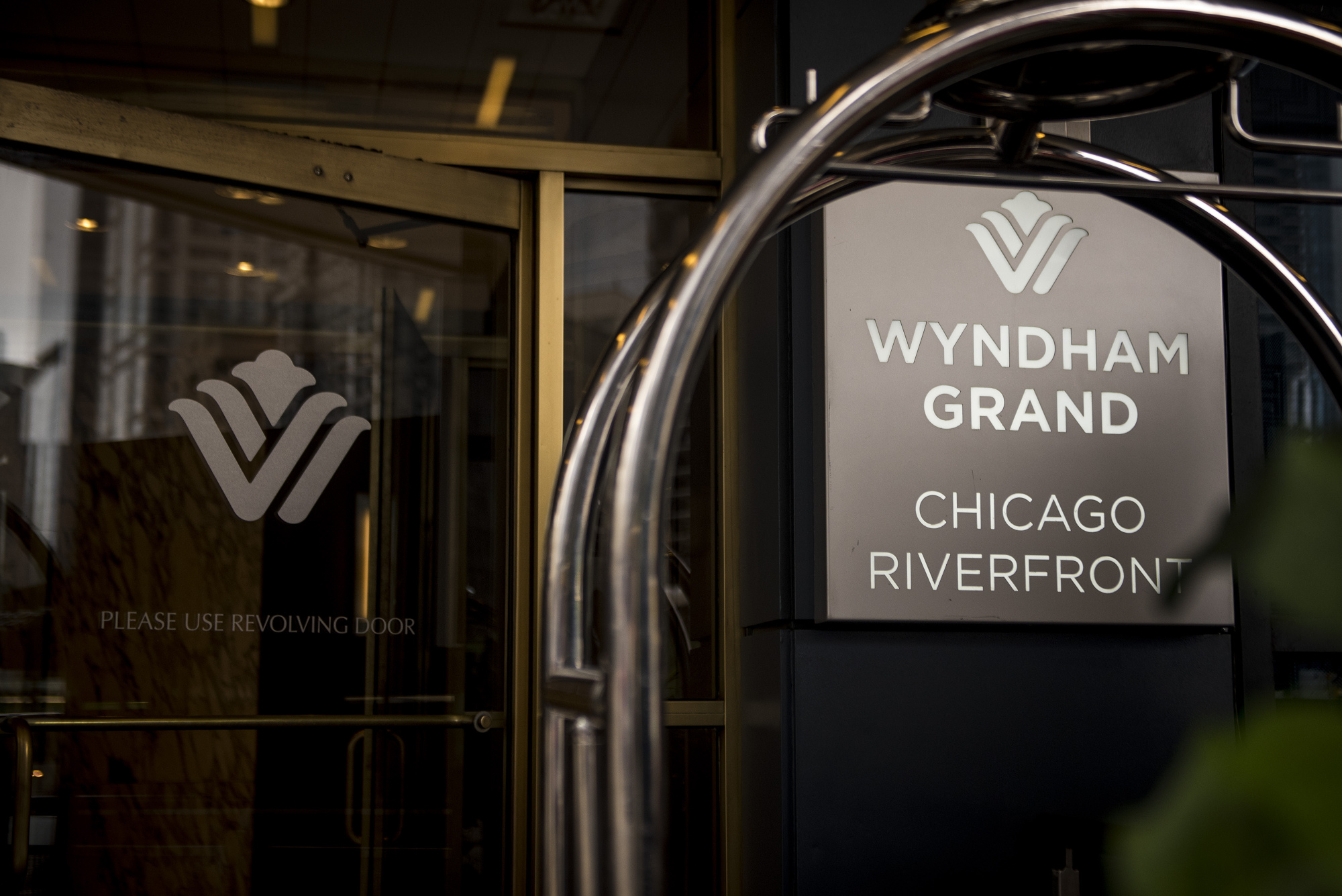 The Wyndham Grand Chicago Riverfront Hotel in downtown Chicago, IL on Thursday July 27, 2017. Photographer: Christopher Dilts/Bloomberg *** Local Caption ***