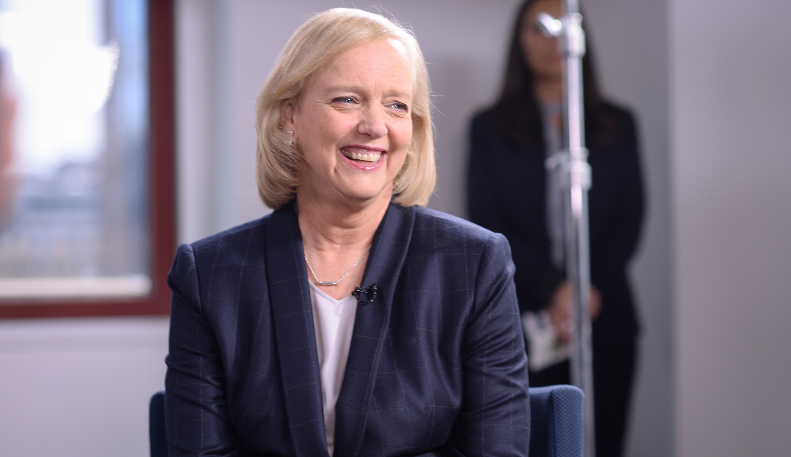 Hewlett Packard Enterprise CEO Meg Whitman In Conversation With LinkedIn Executive Editor Dan Roth