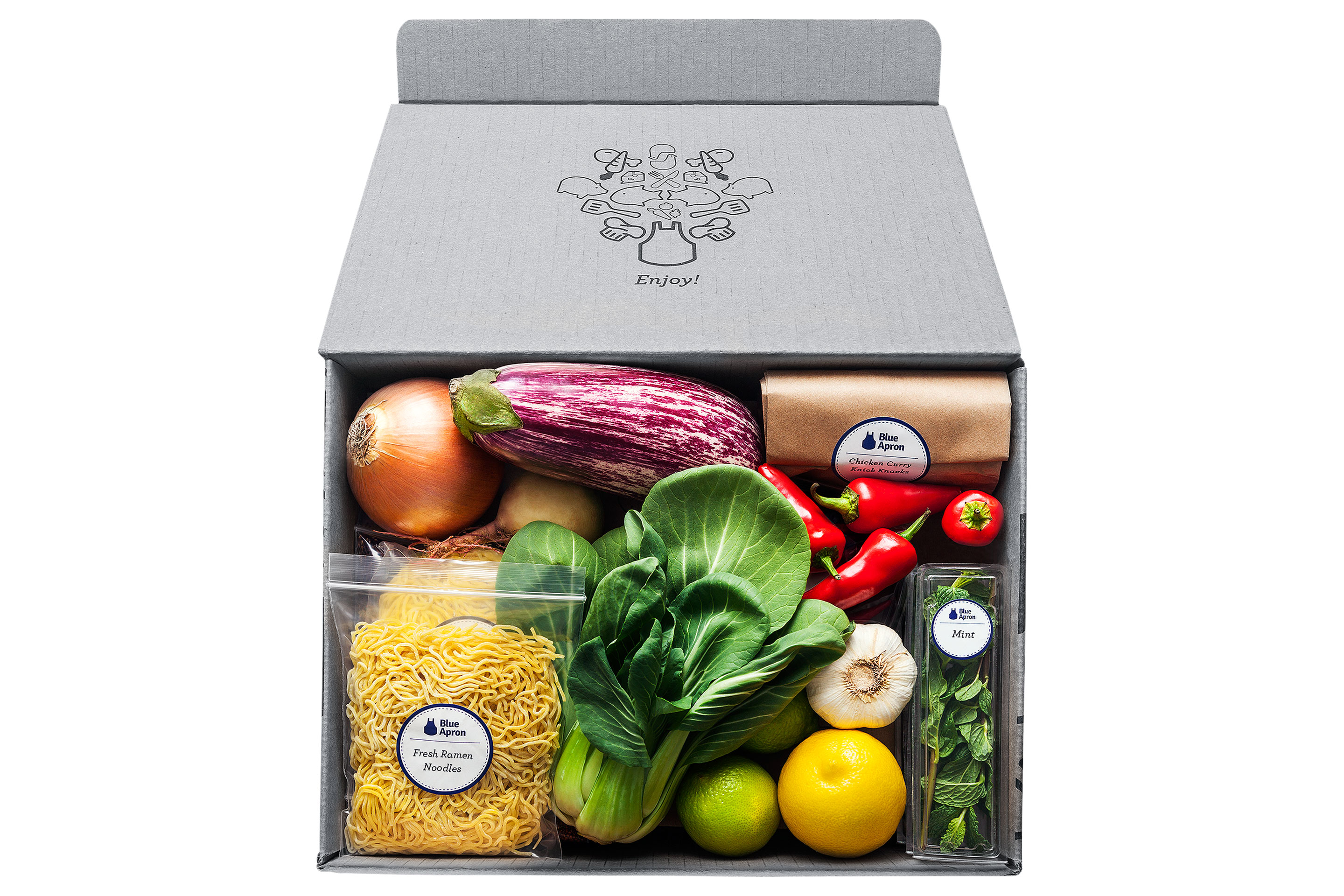 Blue Apron, king of meal-kit companies, faltered after its IPO this summer.