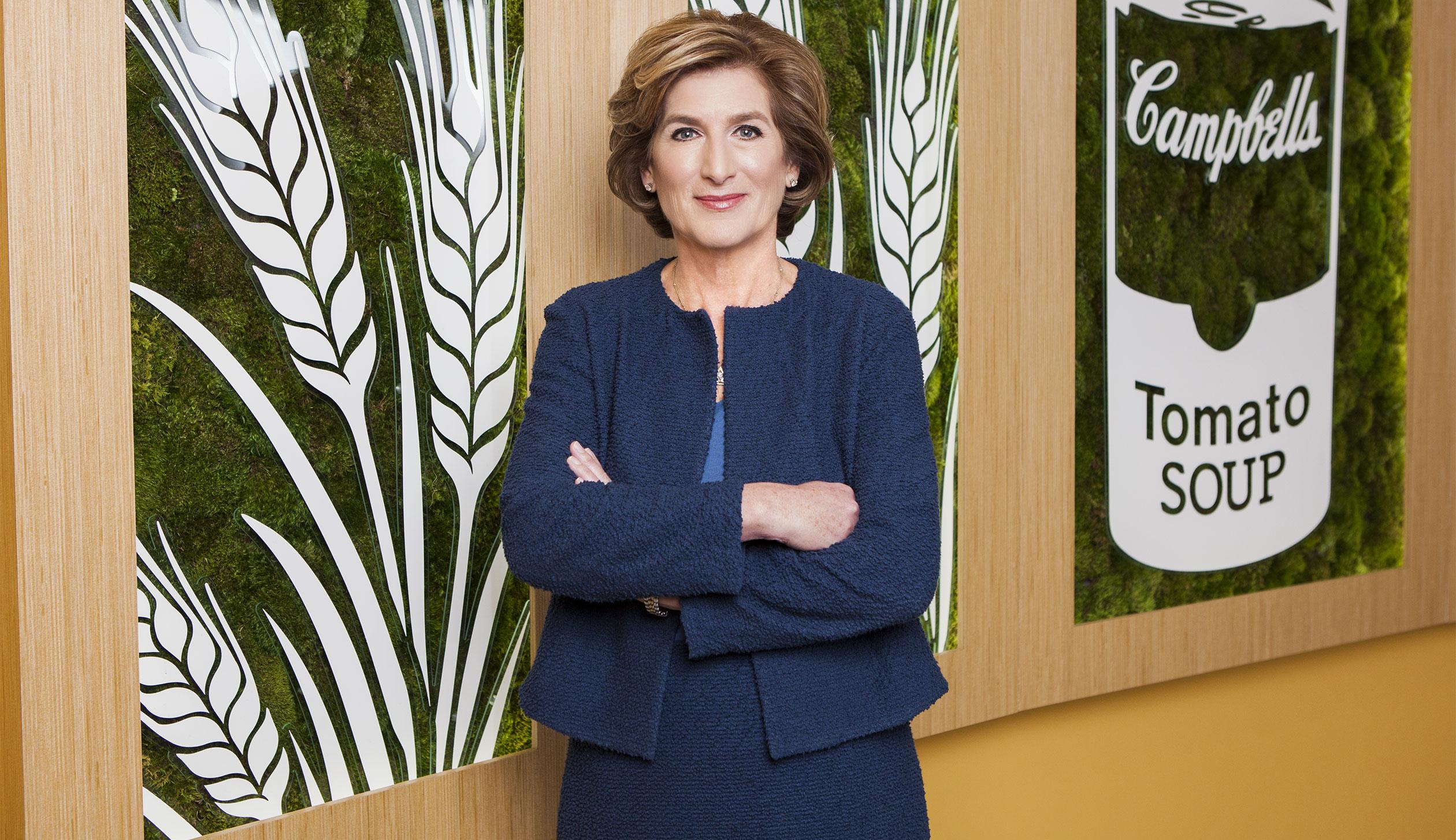 Denise Morrison, ex-CEO, Campbell Soup Co.