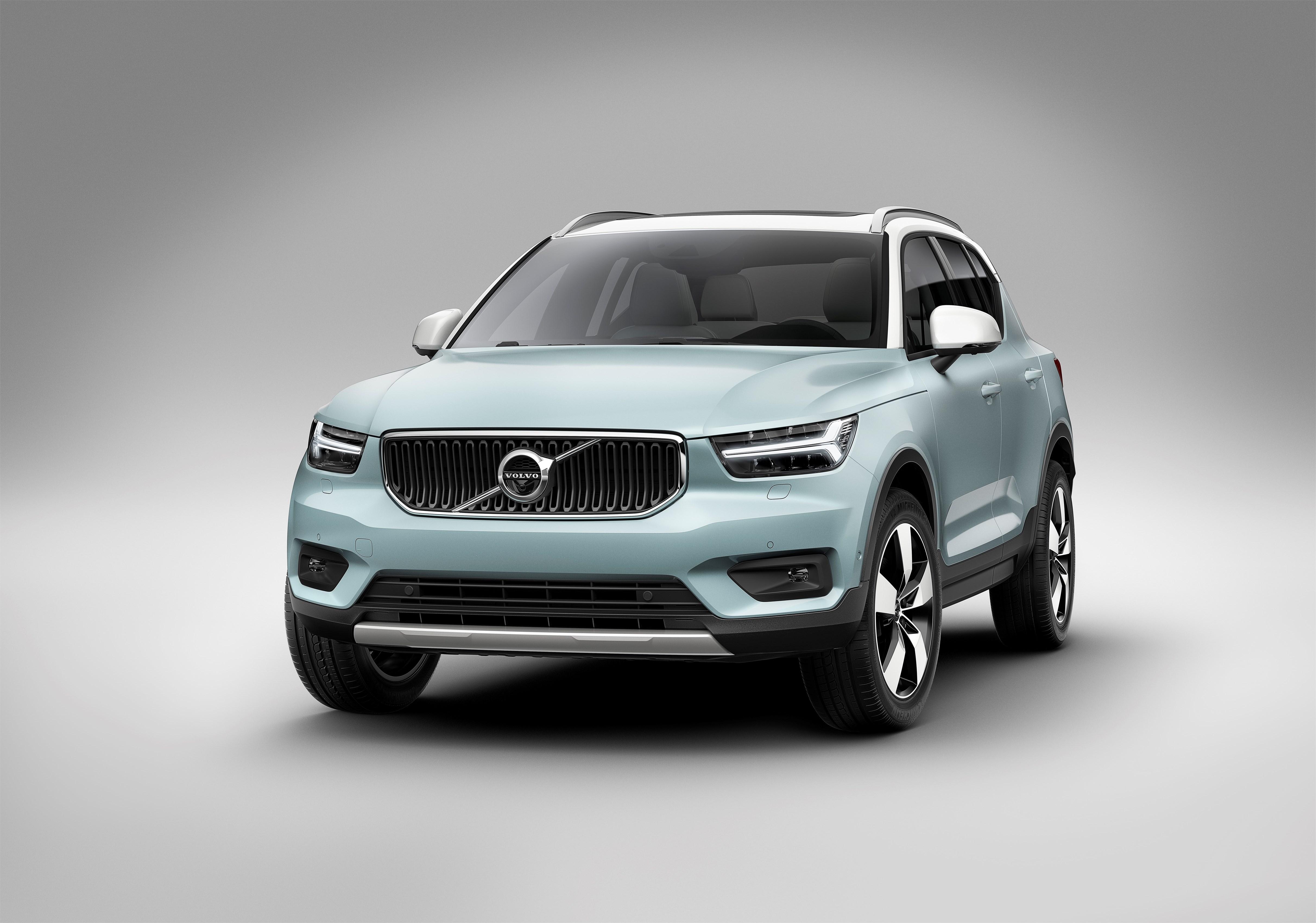New Volvo XC40 - exterior
