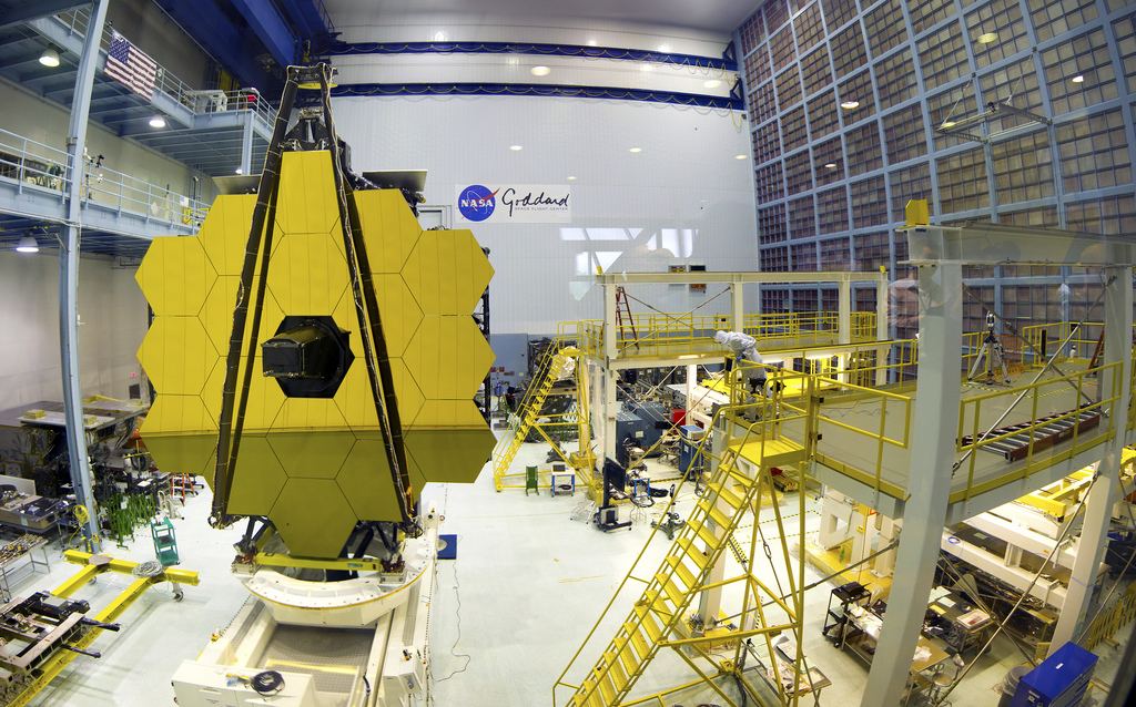 Webb Space Telescope at Goddard Space Center