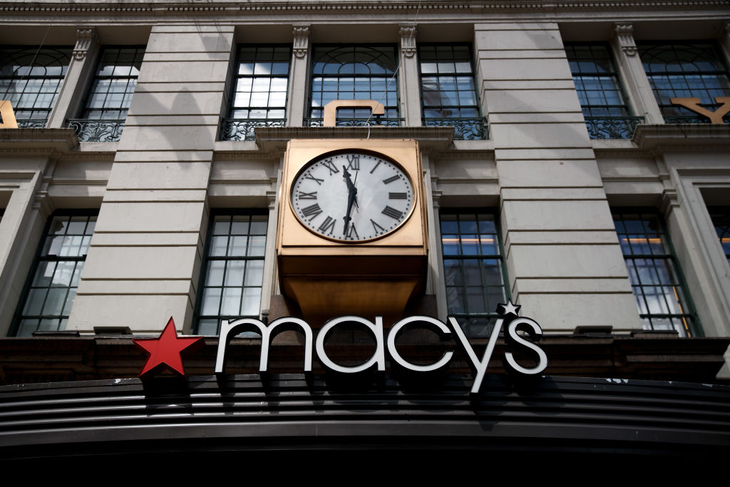 A view of the Macy's flagship store in New York City.