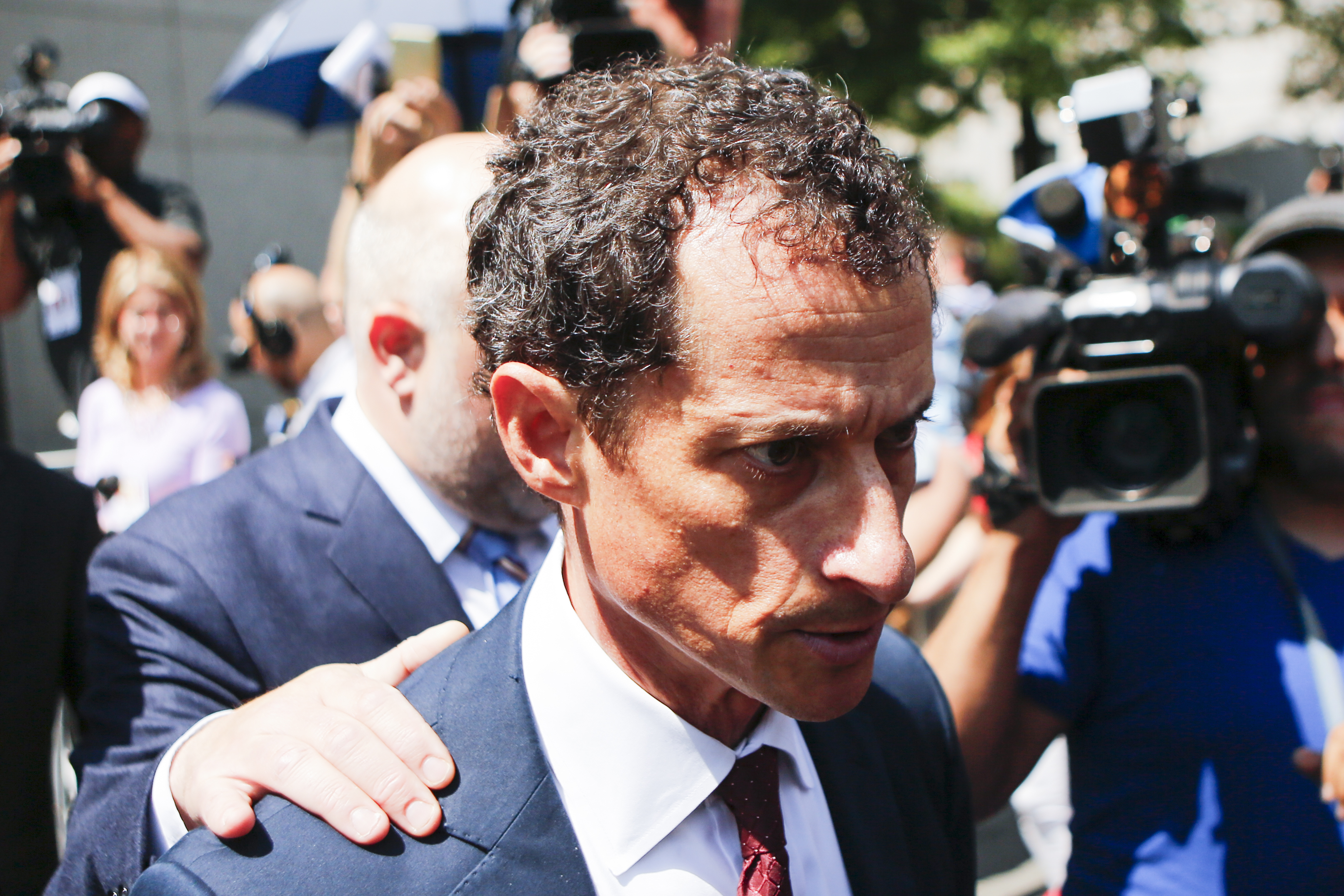 Former Democratic Congressman Anthony Weiner Pleads Guilty In Sexting Case