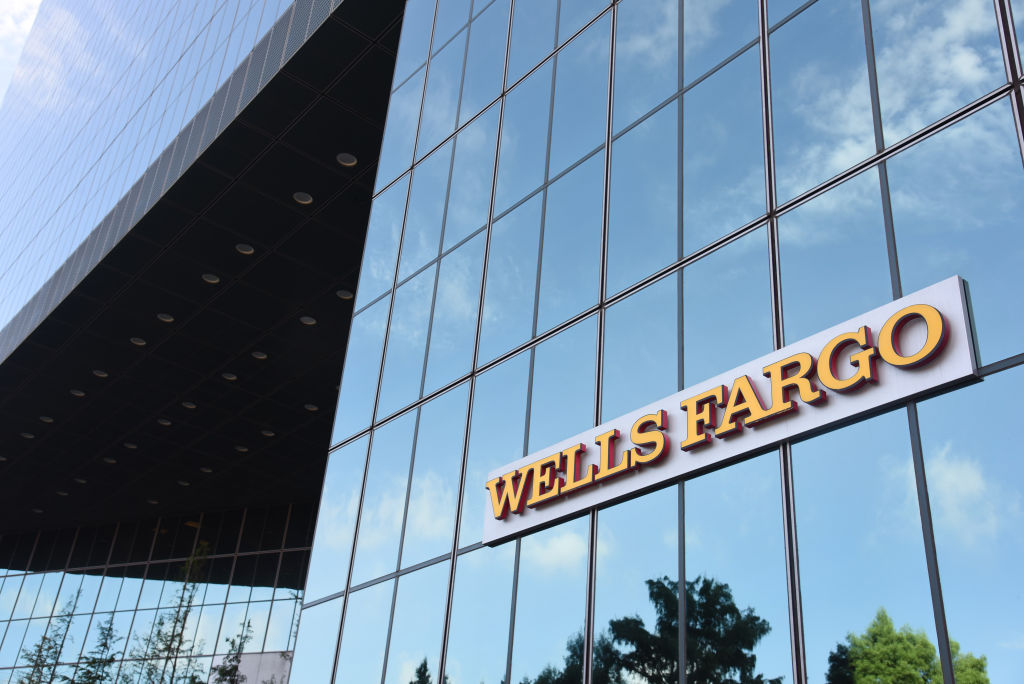 A Wells Fargo & Co. Bank Branch Ahead Of Earnings Figures