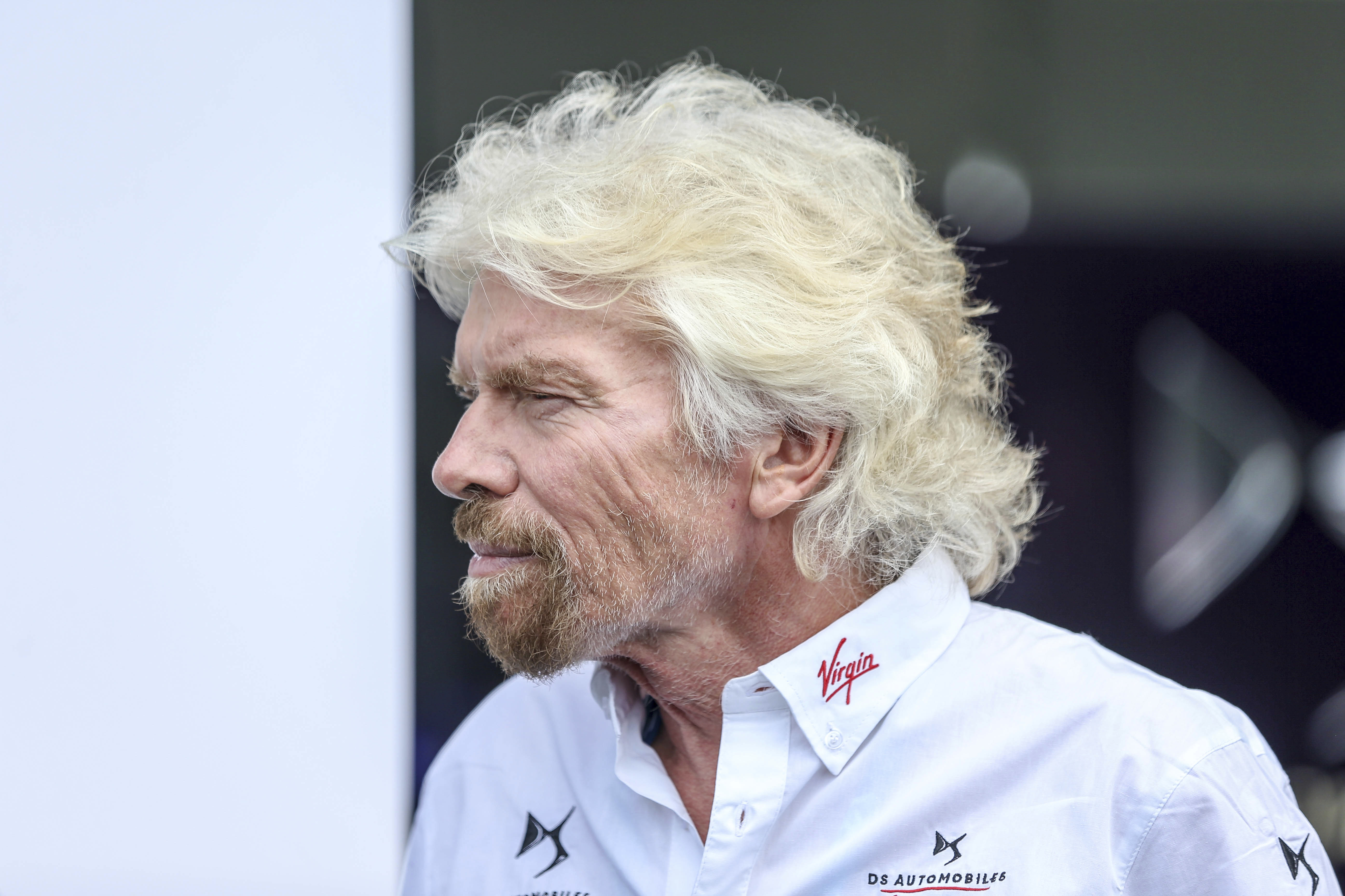 Sir Richard Branson is seen in New York City