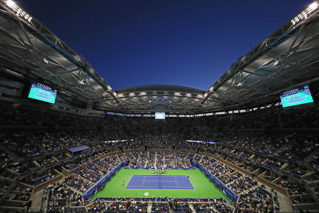 on Day Eleven of the 2017 US Open at the USTA Billie Jean King National Tennis Center on September 7, 2017 in the Flushing neighborhood of the Queens borough of New York City.