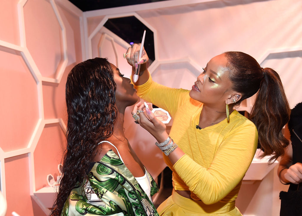 Rihanna Celebrates the Launch of Fenty Beauty