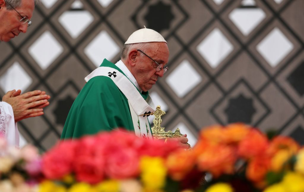 Pope Francis visits Colombia