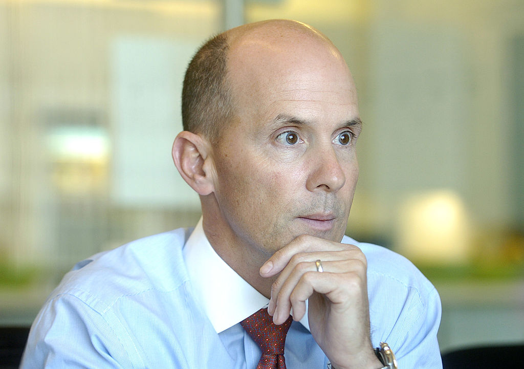 Equifax CEO Richard F. Smith speaks with Bloomberg News repo