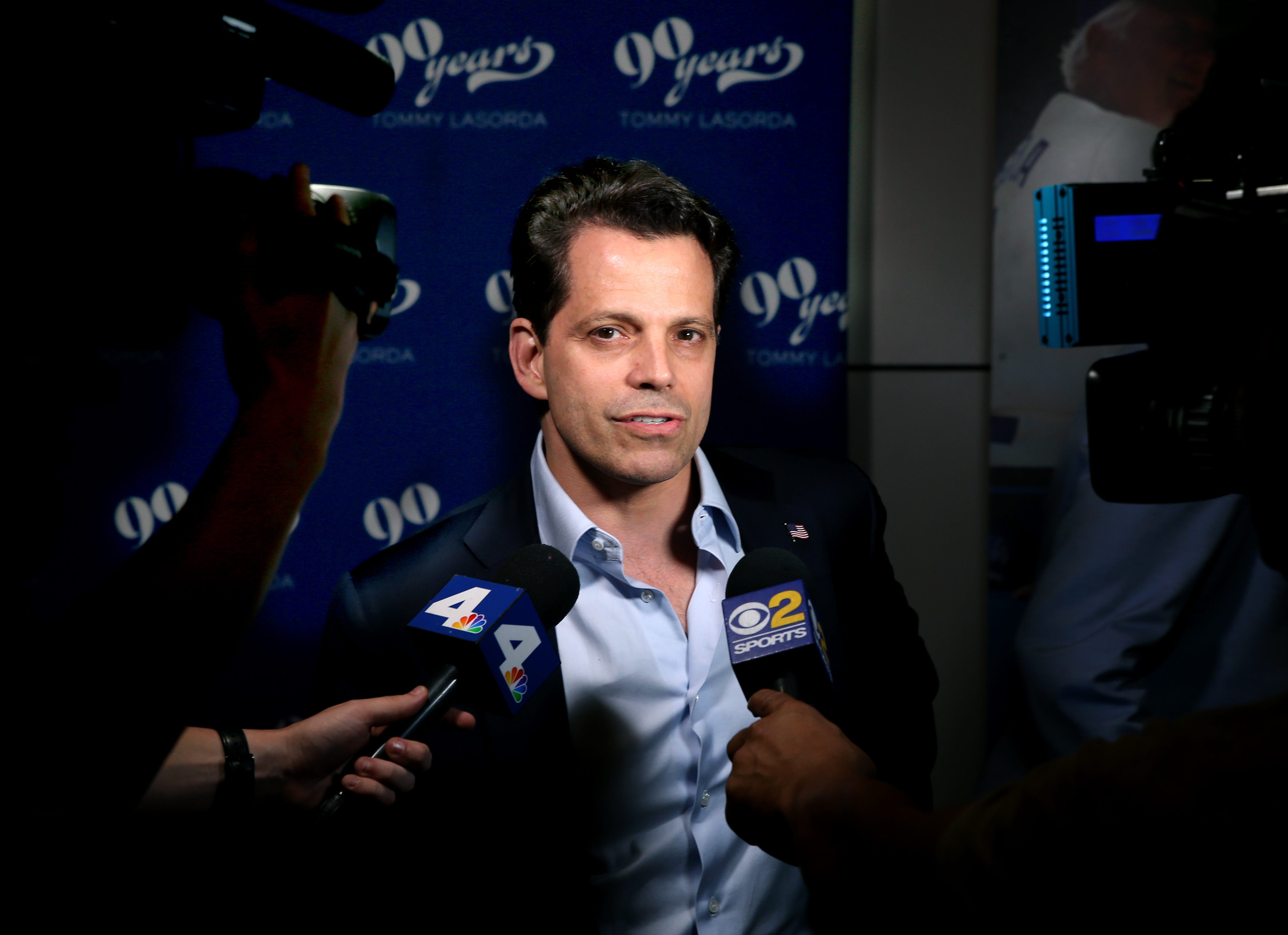 Anthony Scaramucci at Tommy Lasorda's 90th Birthday Celebration at The Getty Center on September 24, 2017 in Los Angeles, California.