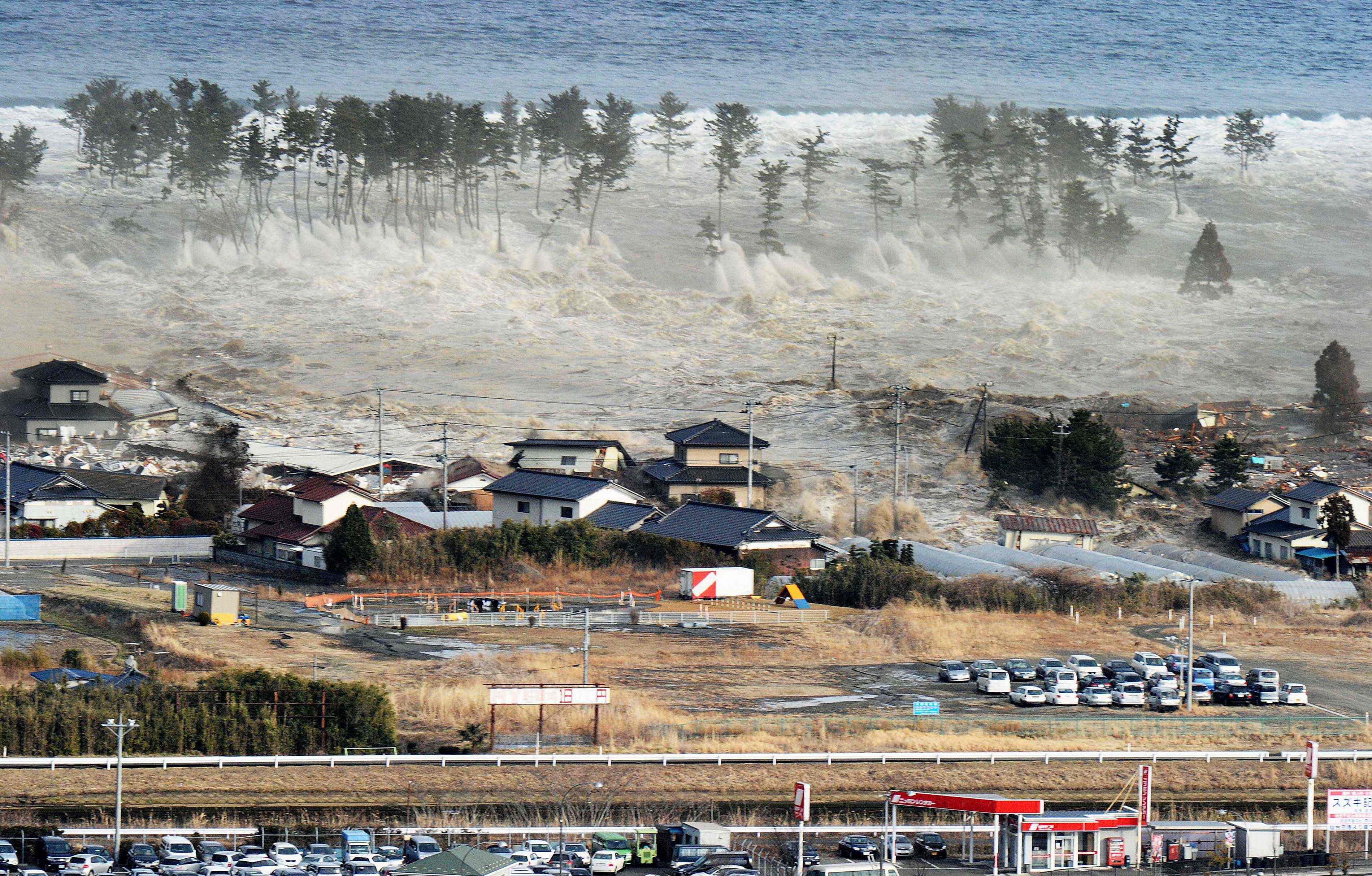 japan earthquake pictures from fukushima s last tsunami