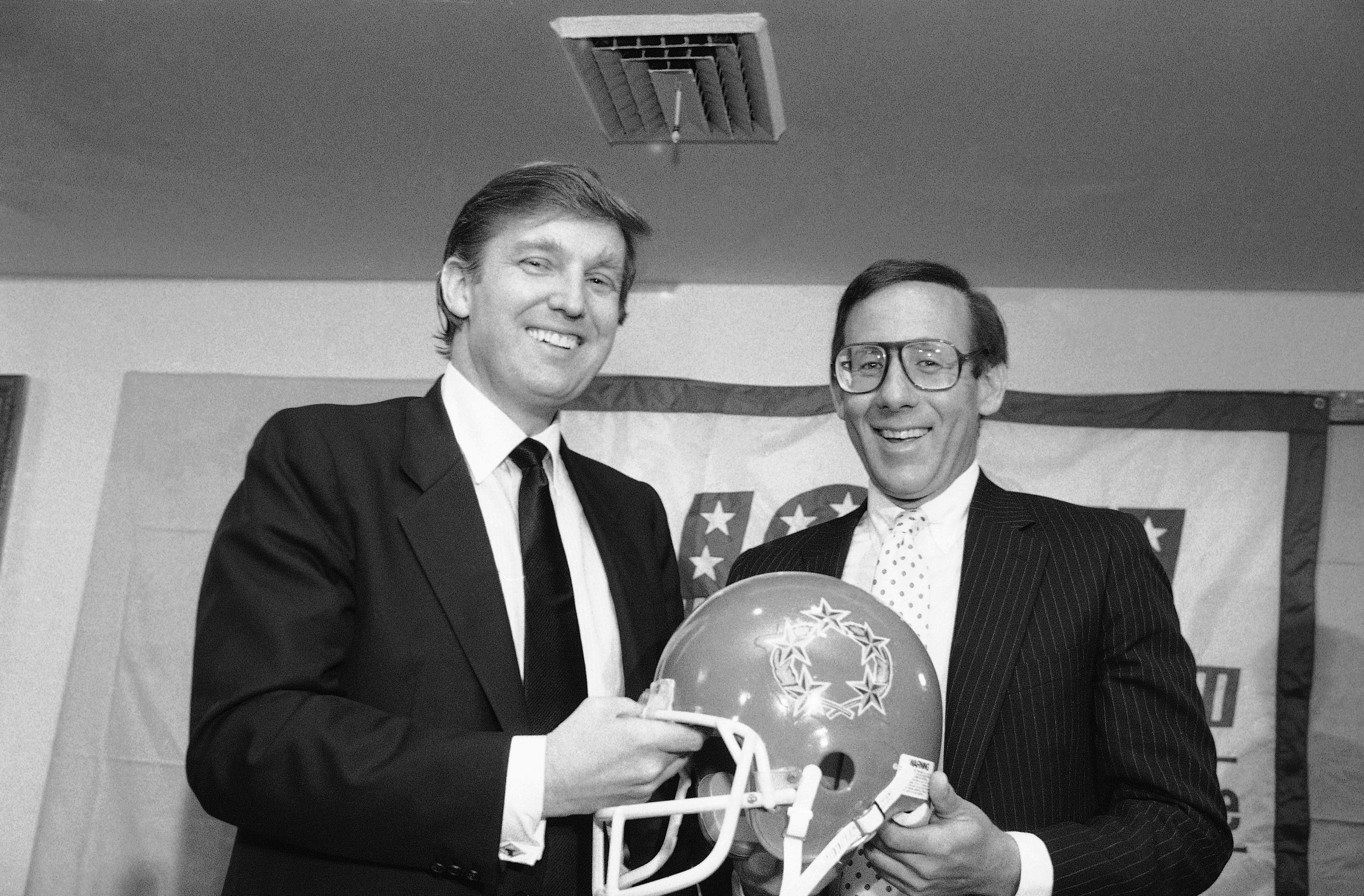 Donald Trump and Steve Ross