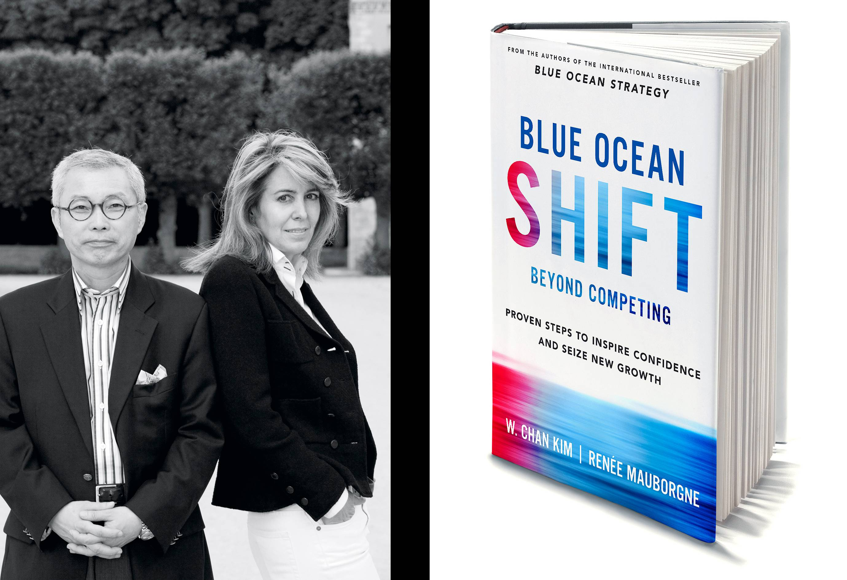 Renée Mauborgne looks past the competition in Blue Ocean Shift, cowritten with W. Chan Kim.
