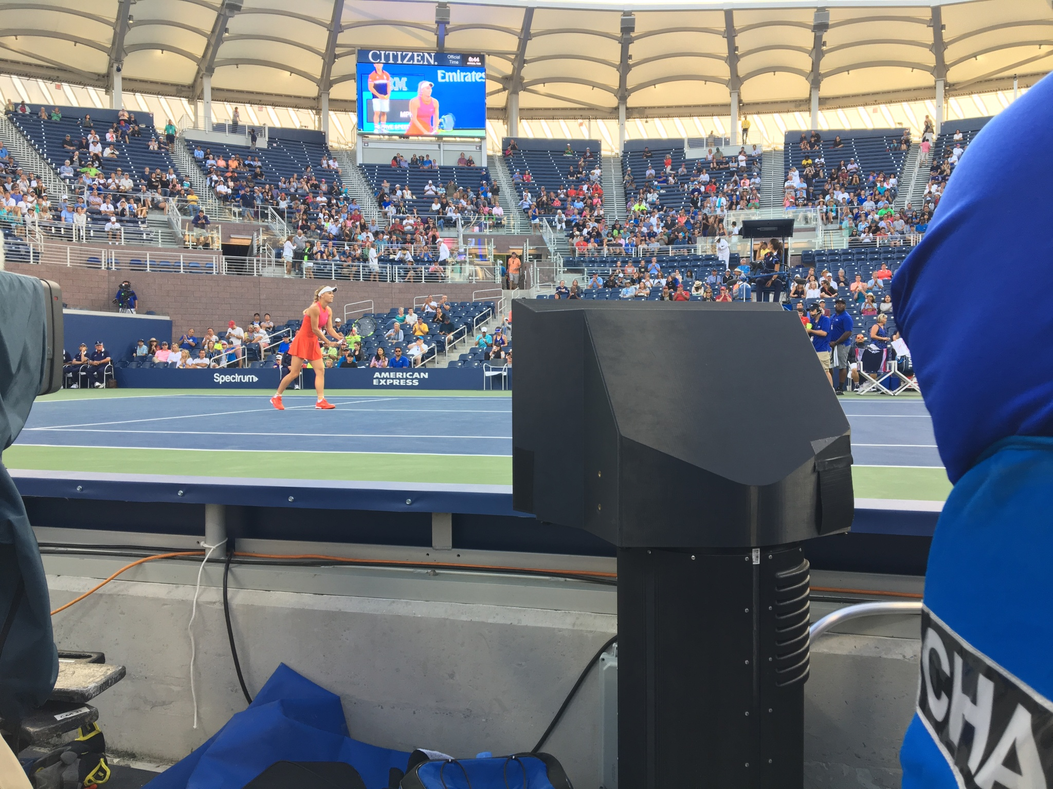 ESPN Front Row Cam at US Open