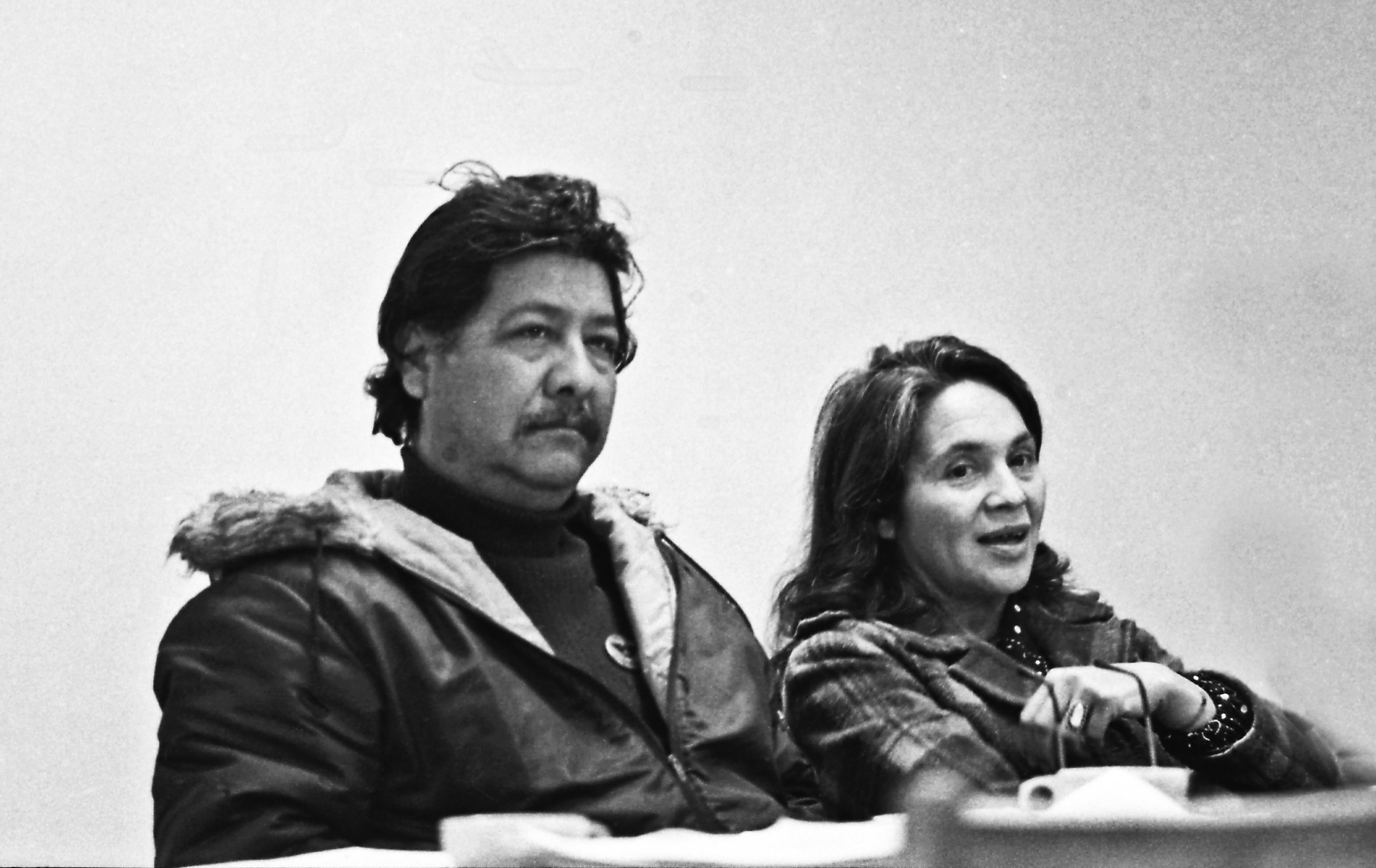 Huerta & Chavez At Meeting