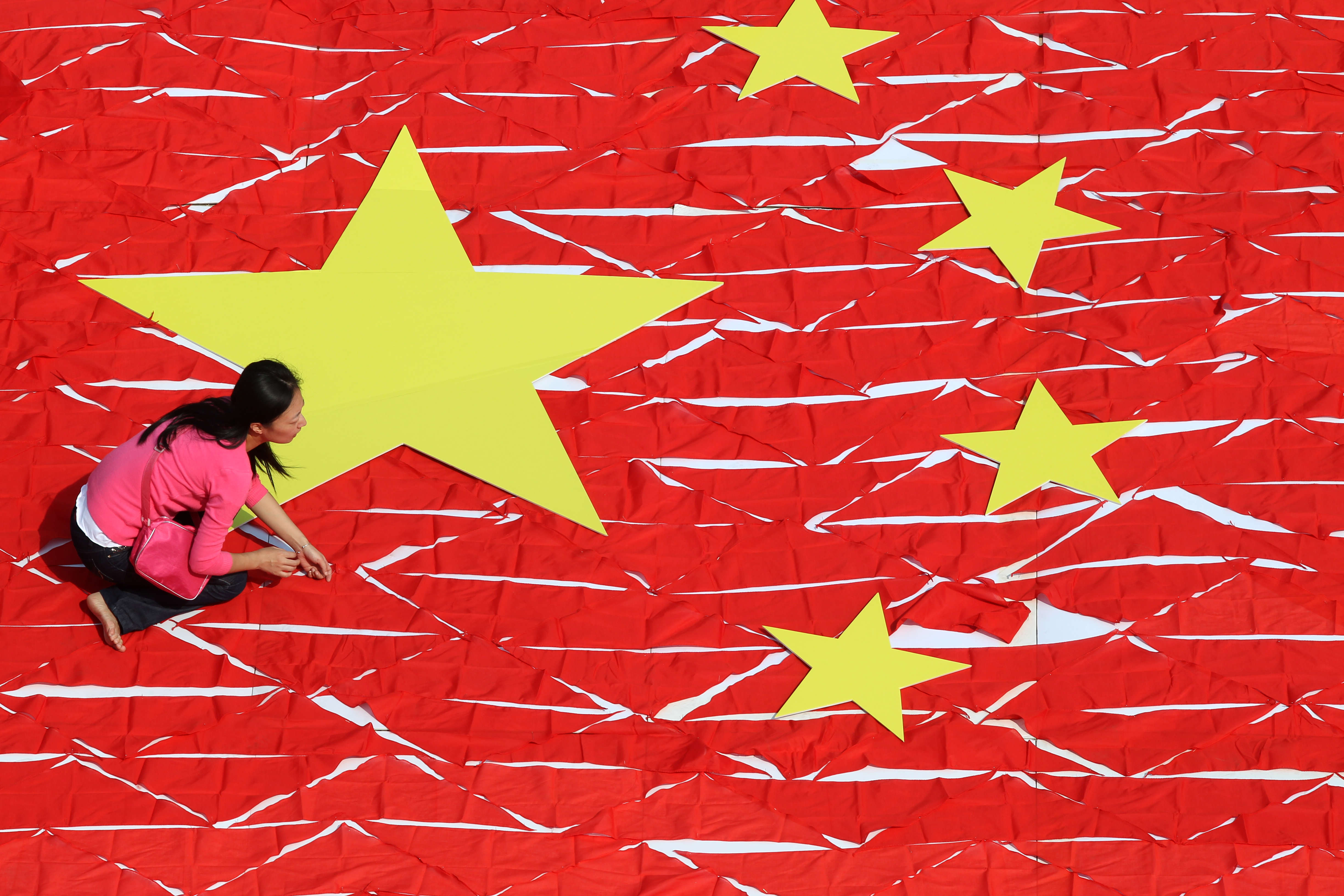 Preparations Begin Around China For National Day