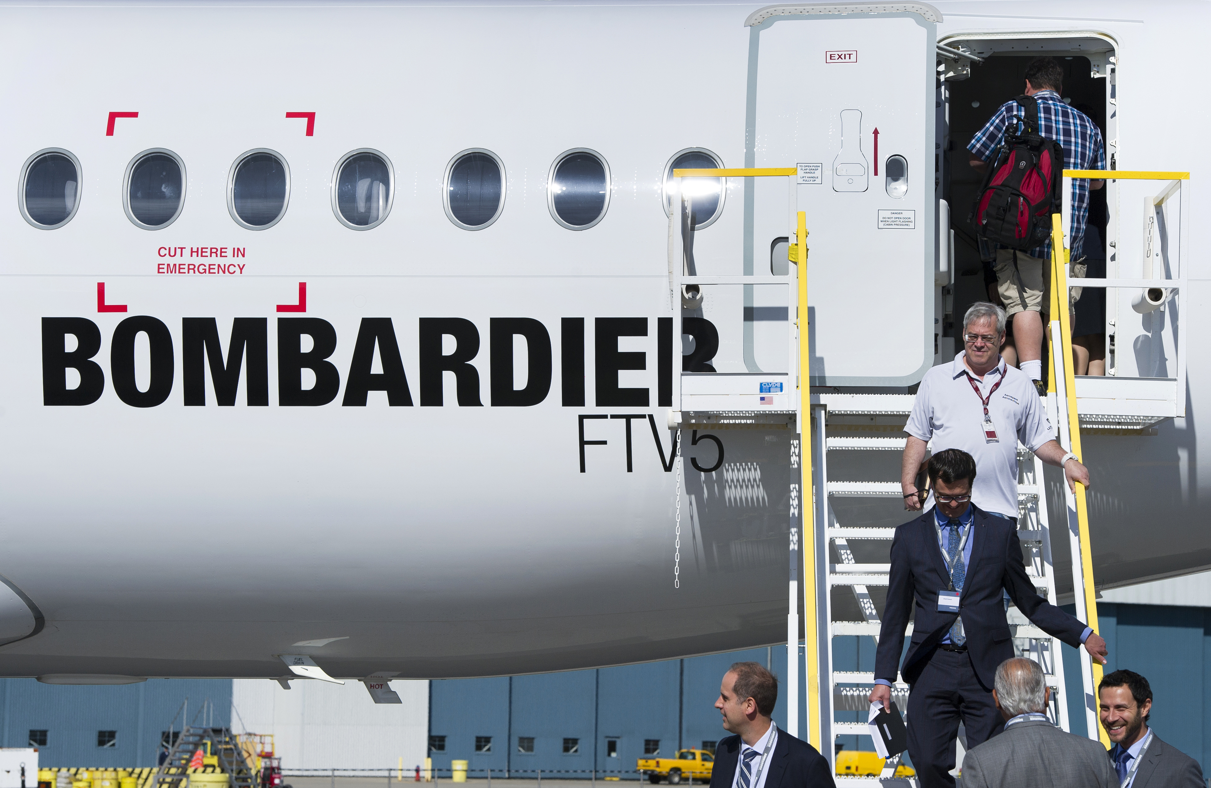 Bombardier Sees CSeries Quest Tilting to Europe, Americas