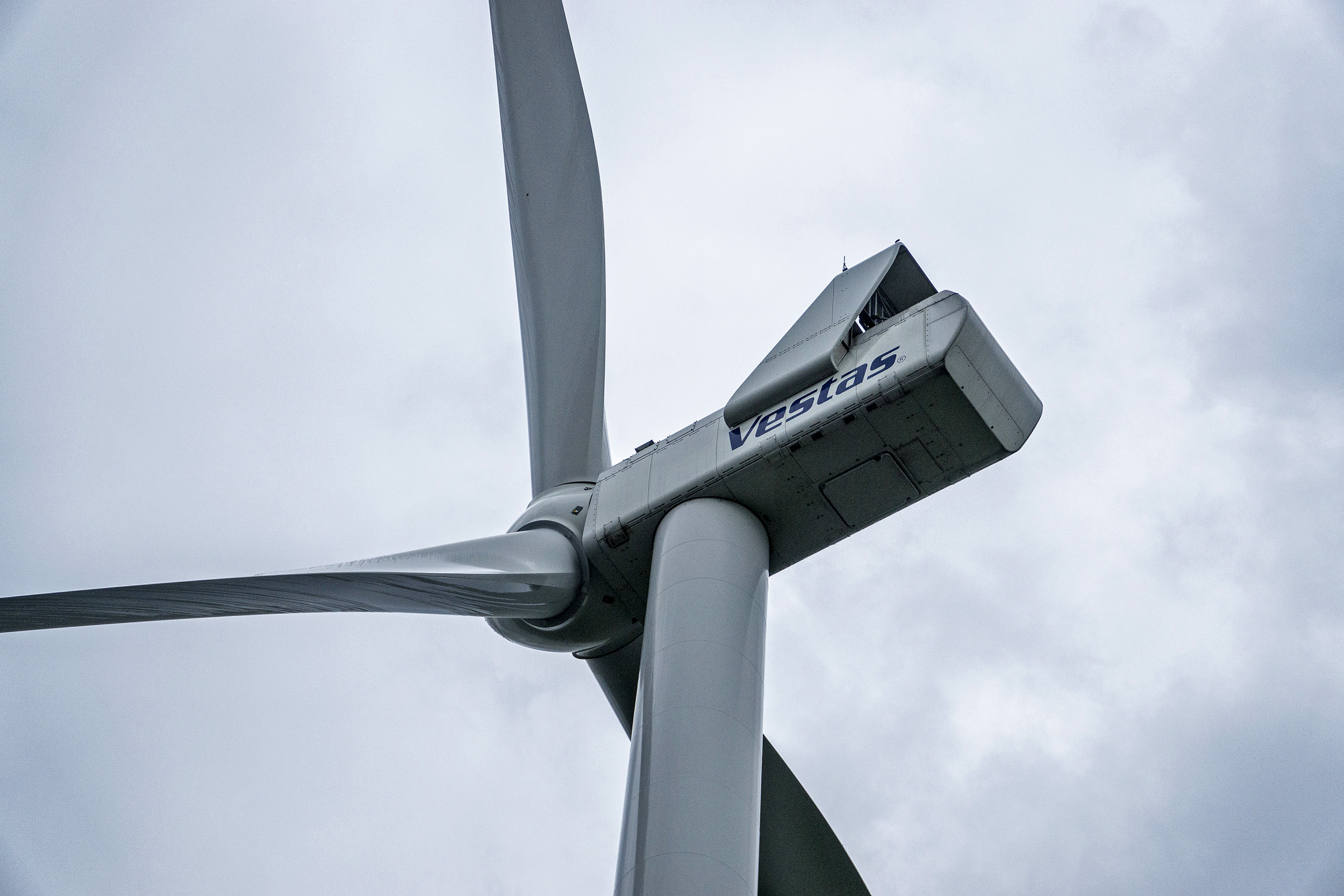 Vestas A/S Wind Turbines Operating At DTEK Holdings Ltd. Wind Farm