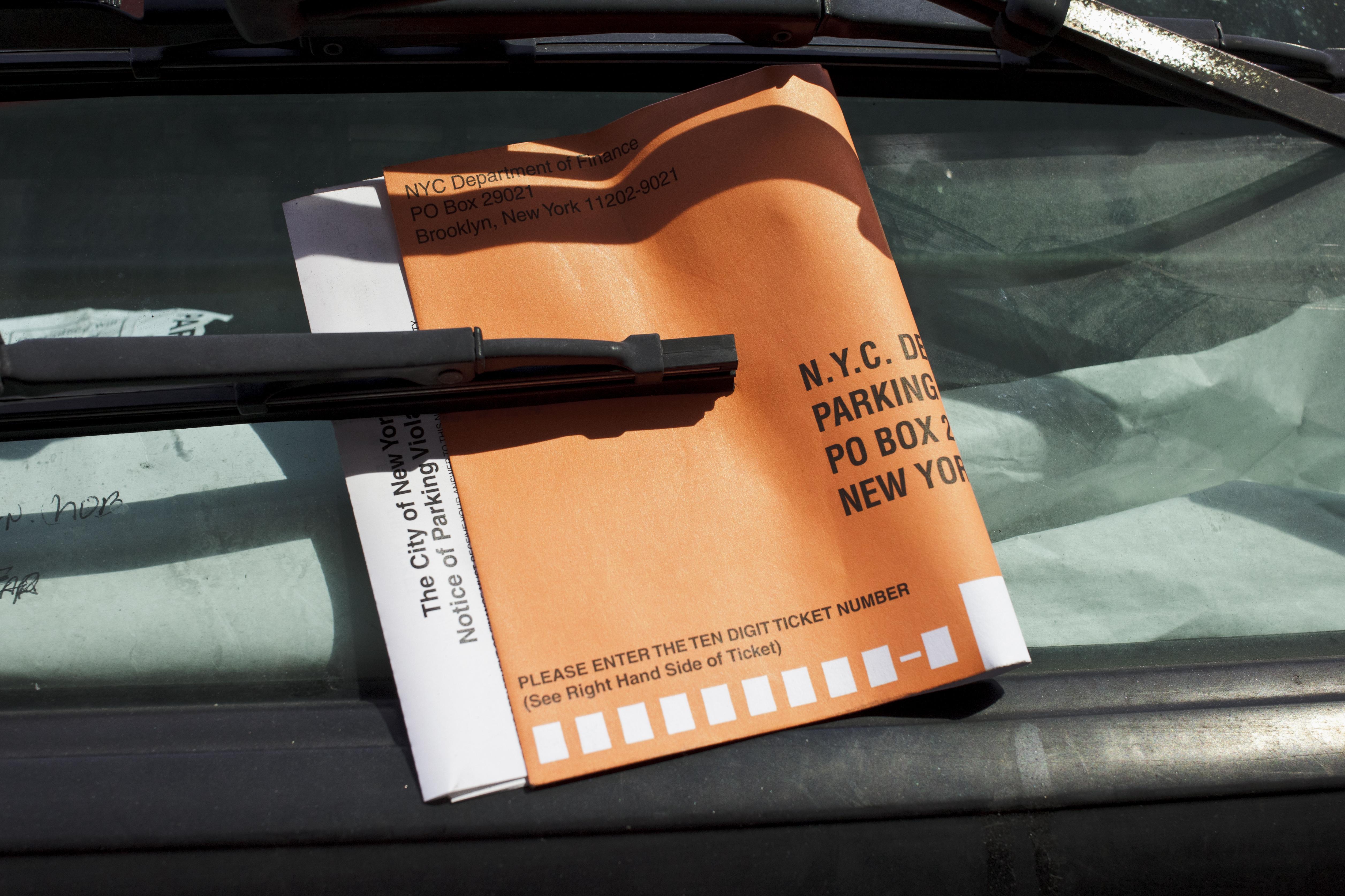 USA - Transportation - Parking Ticket in New York City