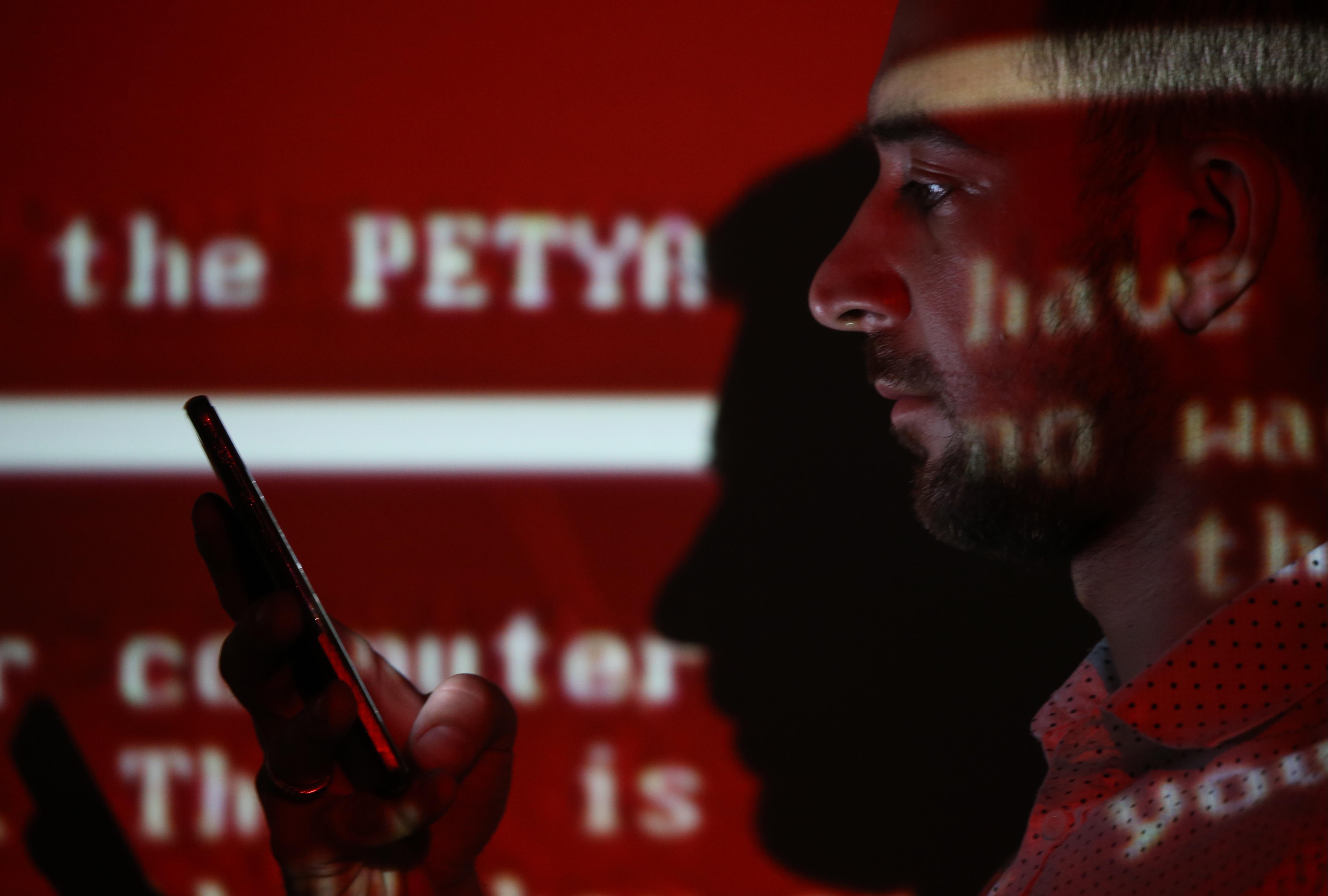 Petya ransomware cyber attack