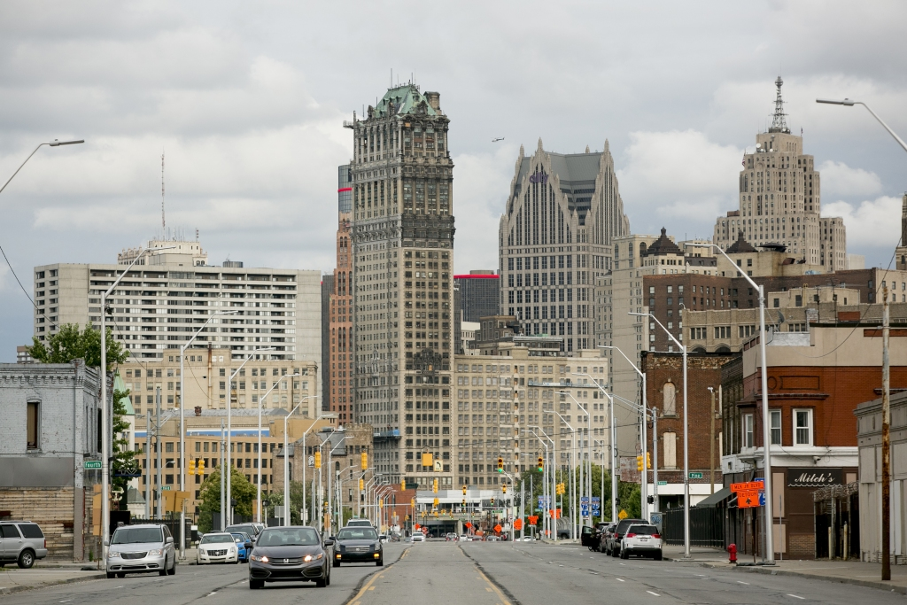 Views Of Detroit As The City Tries Silicon Valley Makeover
