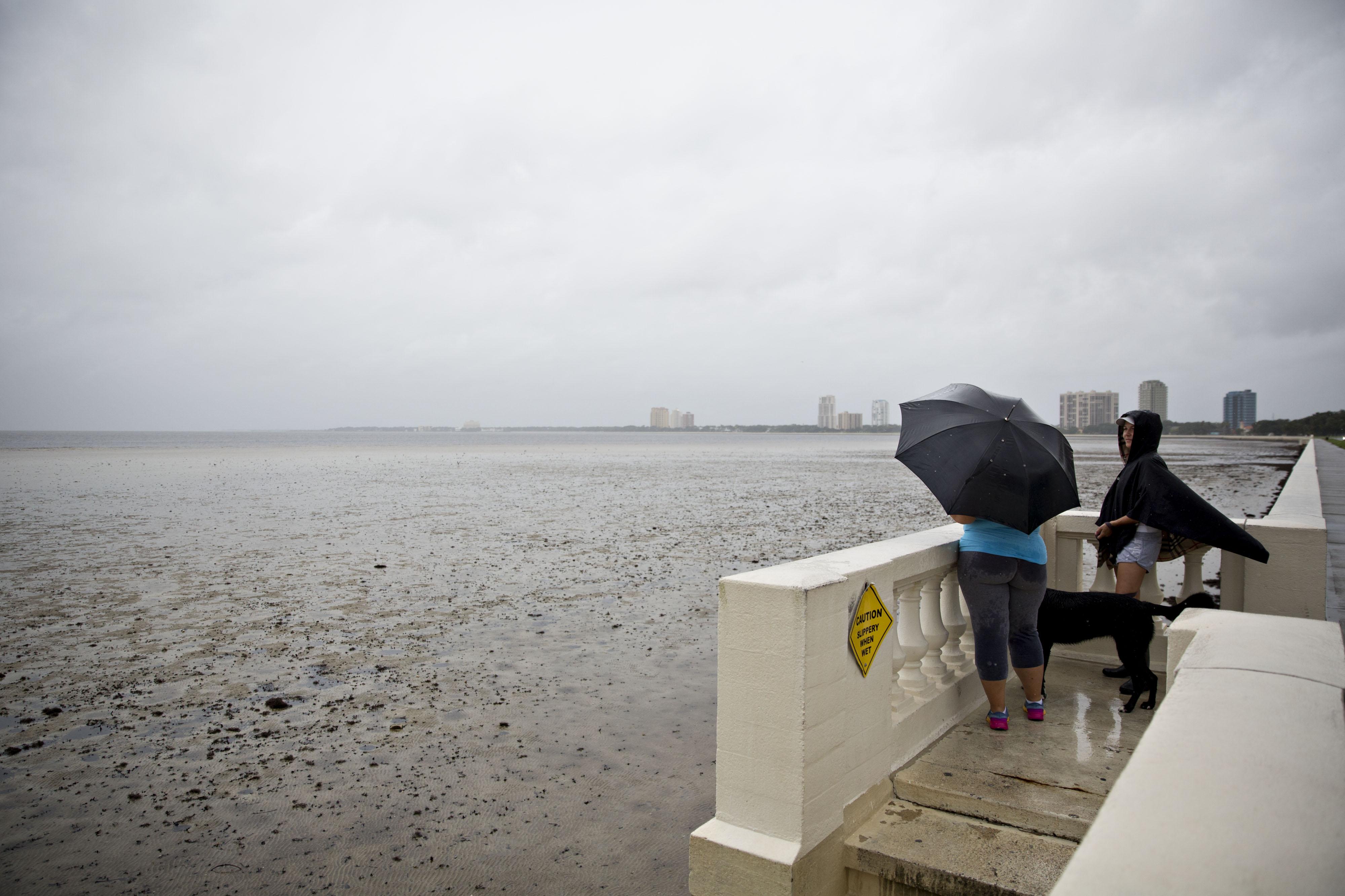 hurricane irma ocean dry