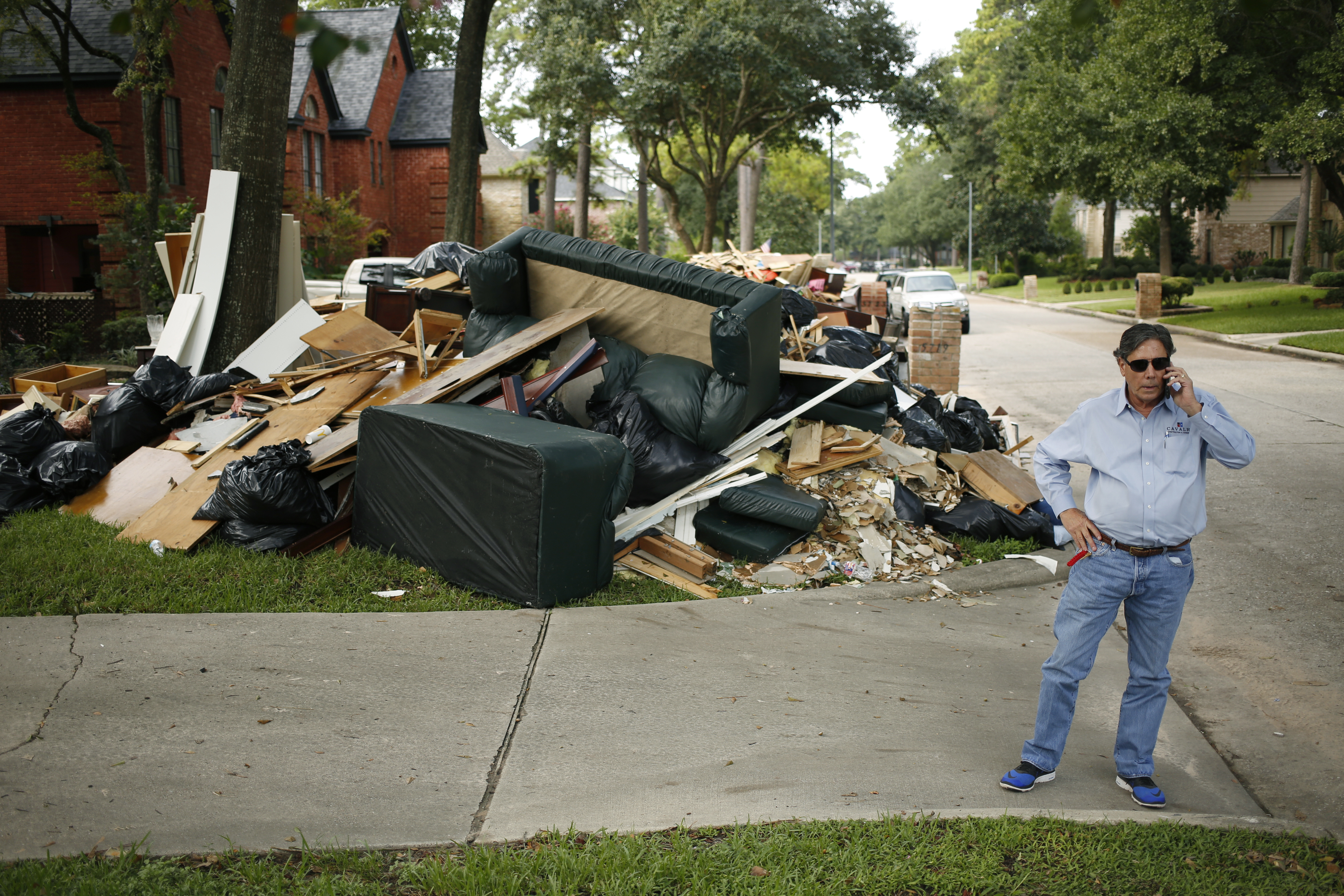 Hurricane Harvey Clean Up As Catastrophes Become A Lucrative Business