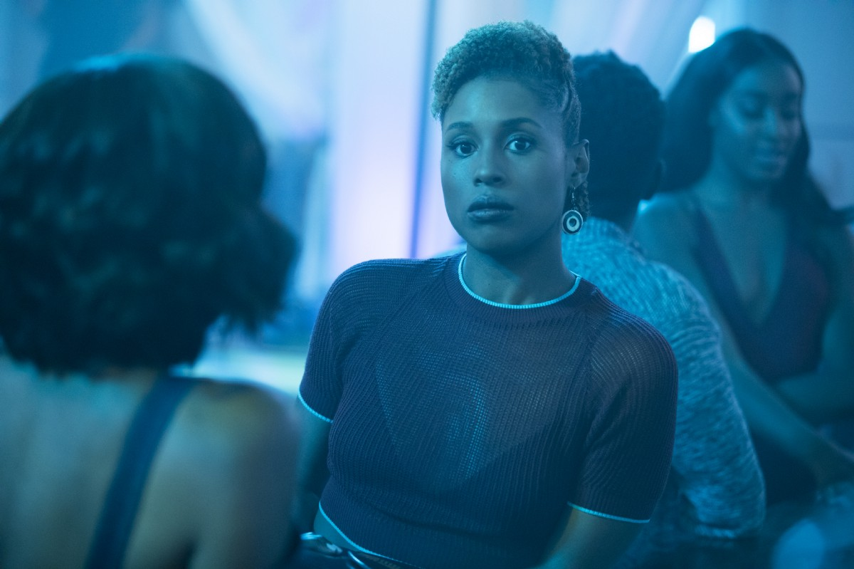 "Issa Rae in HBO's hit series,""Insecure."""