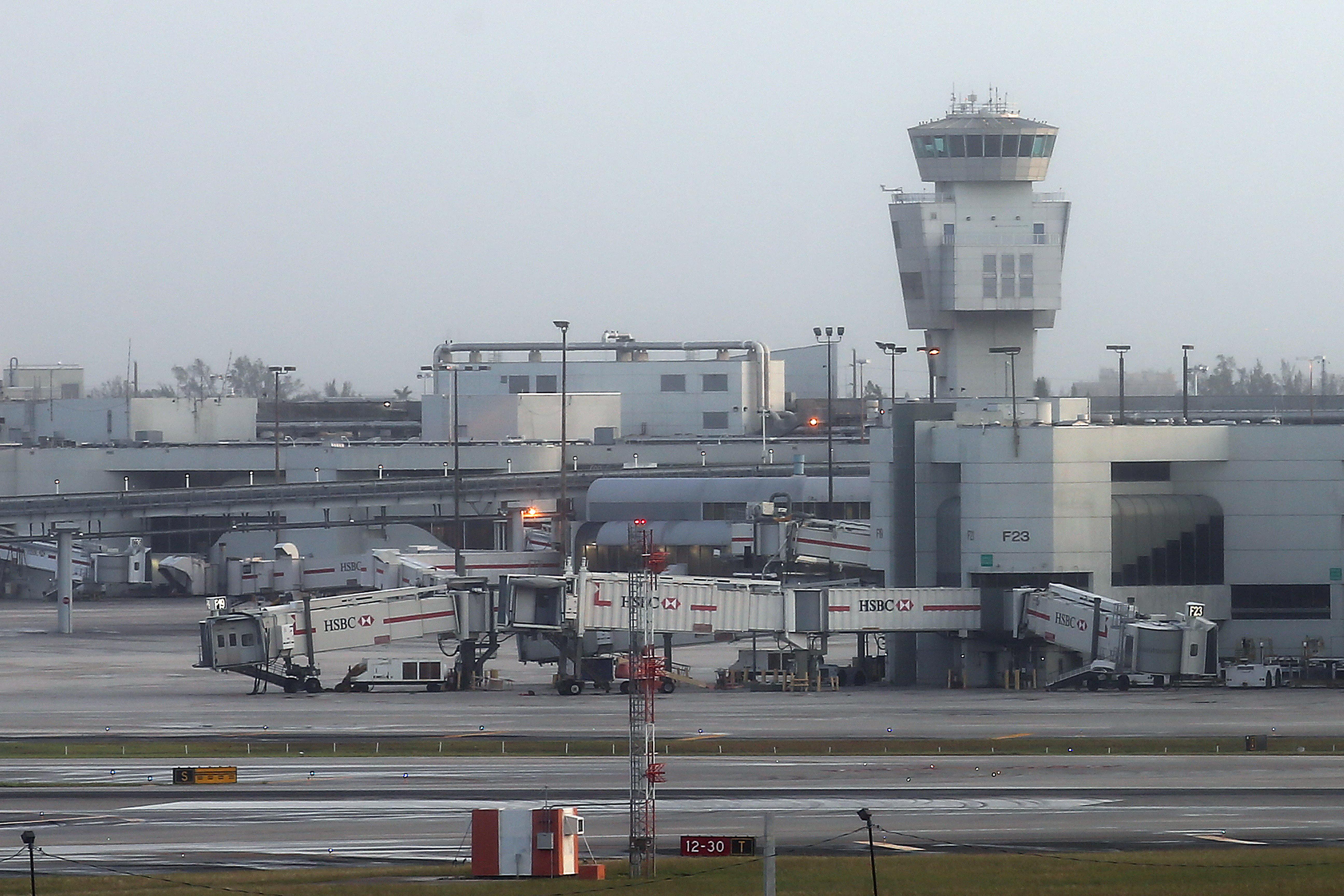 miami international airport hurricane irma closed water damage