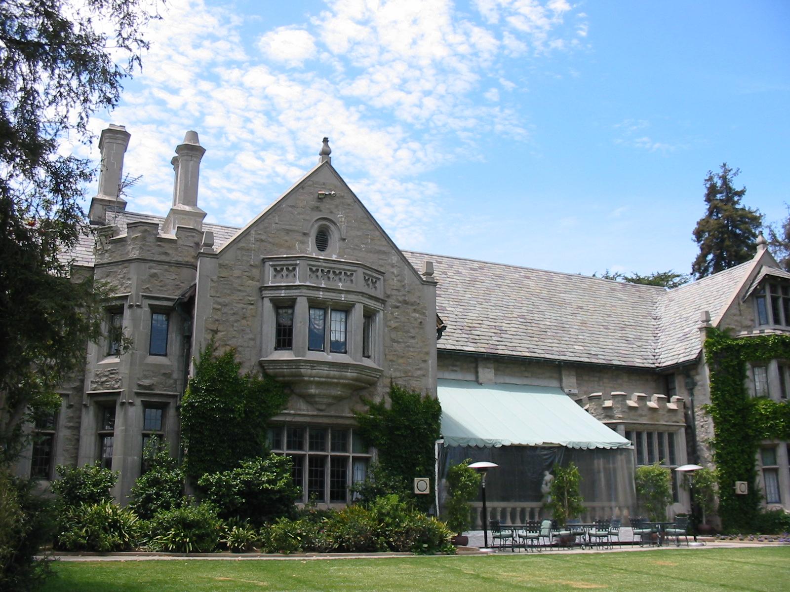 Playboy Mansion exterior 1