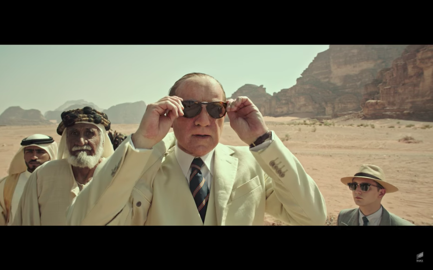 """Kevin Spacey as J. Paul Getty in the 2017 Sony Pictures film """"All the Money in the World"""""""