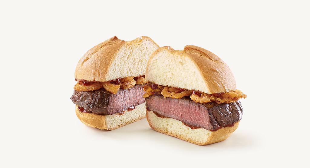 Arby's limited-release venison sandwich.