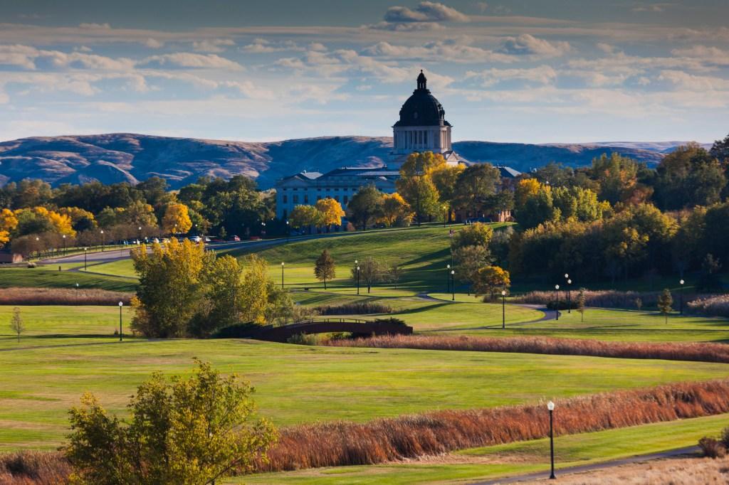 USA, South Dakota, Pierre, South Dakota State Capitol