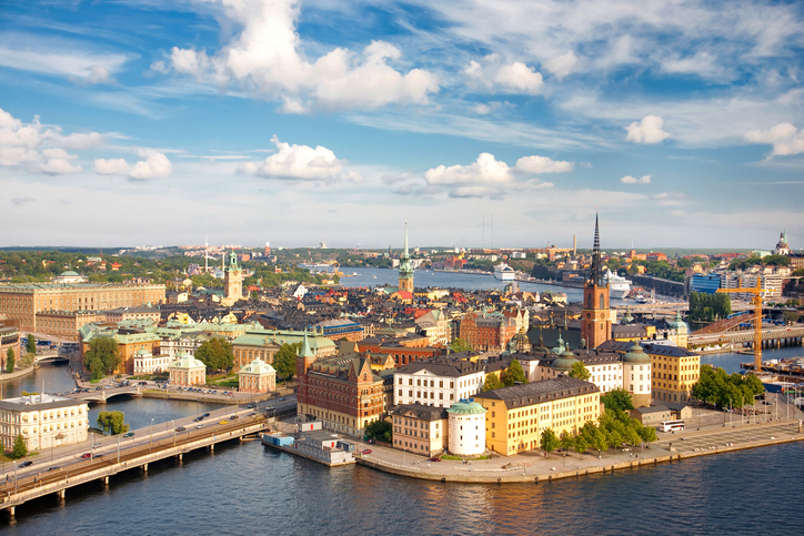 Panorama of Stockholm, Sweden