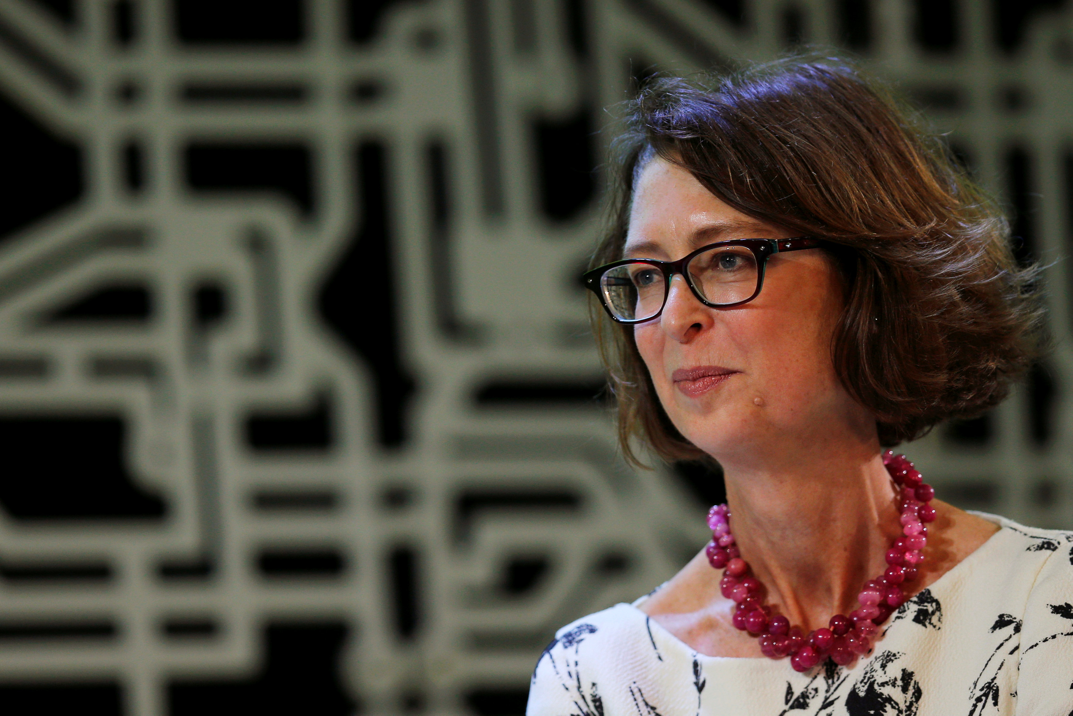 Fidelity Chairman and CEO Abigail Johnson interviews founder of Bloomberg L.P. and former New York City Mayor Michael Bloomberg about innovation at the Boston-based HubWeek in Boston