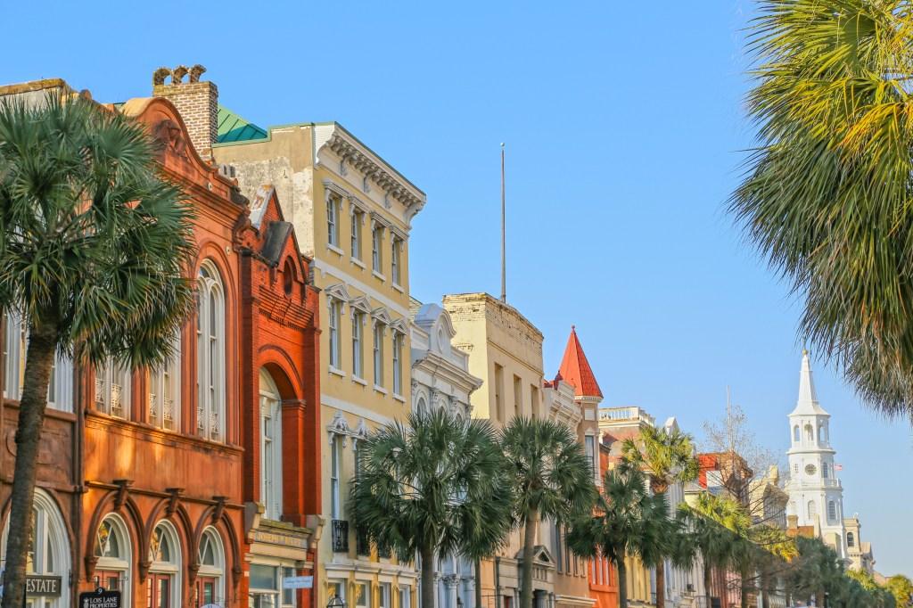 Beautiful day in Charleston