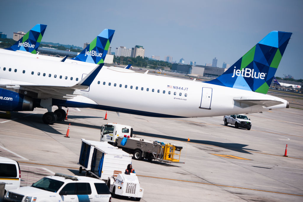 Inside JetBlue Airways Corp. Terminal 5 At JFK Ahead Of Earnings Figures
