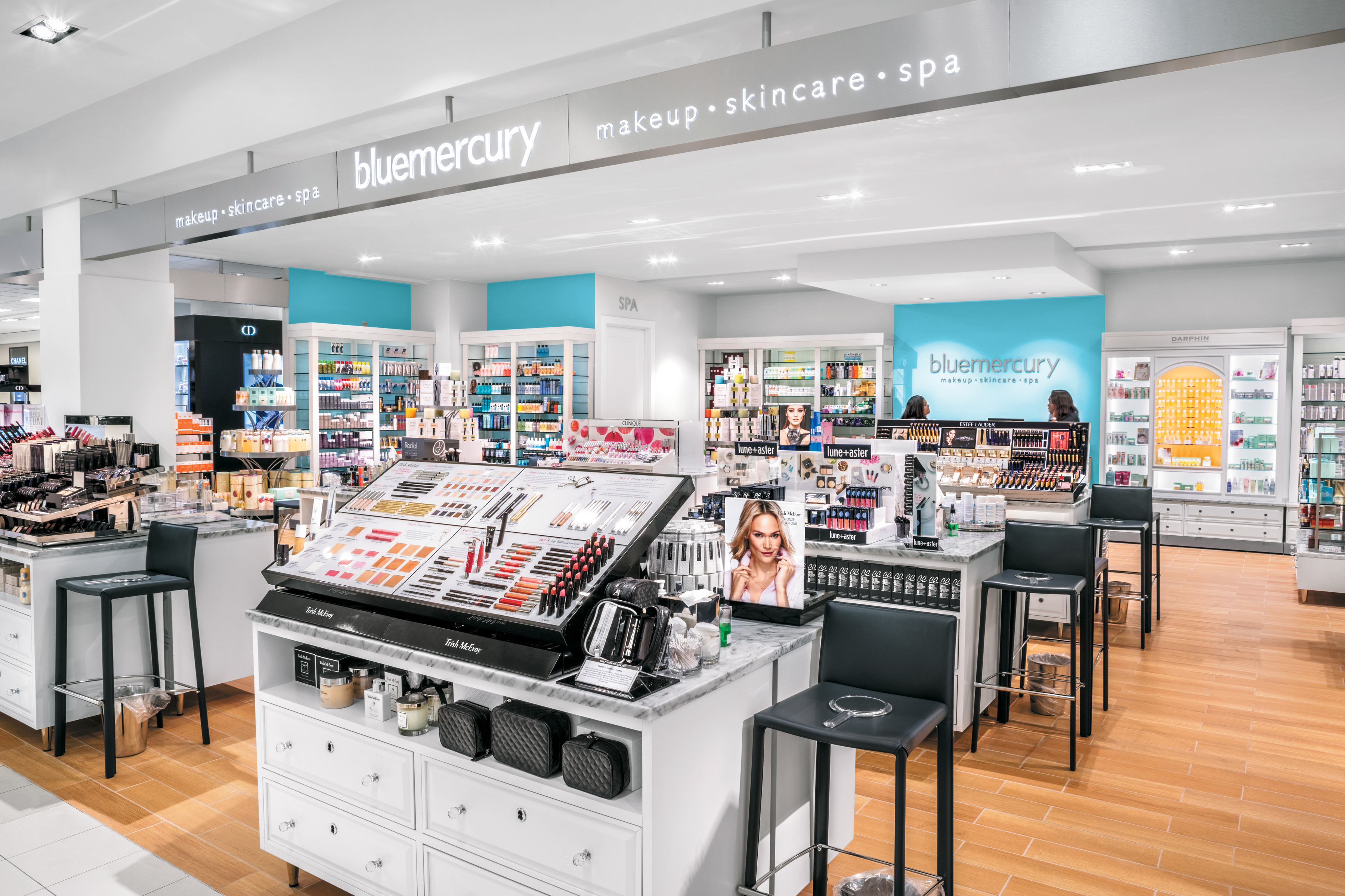 A Bluemercury boutique within a Macy's department stores.