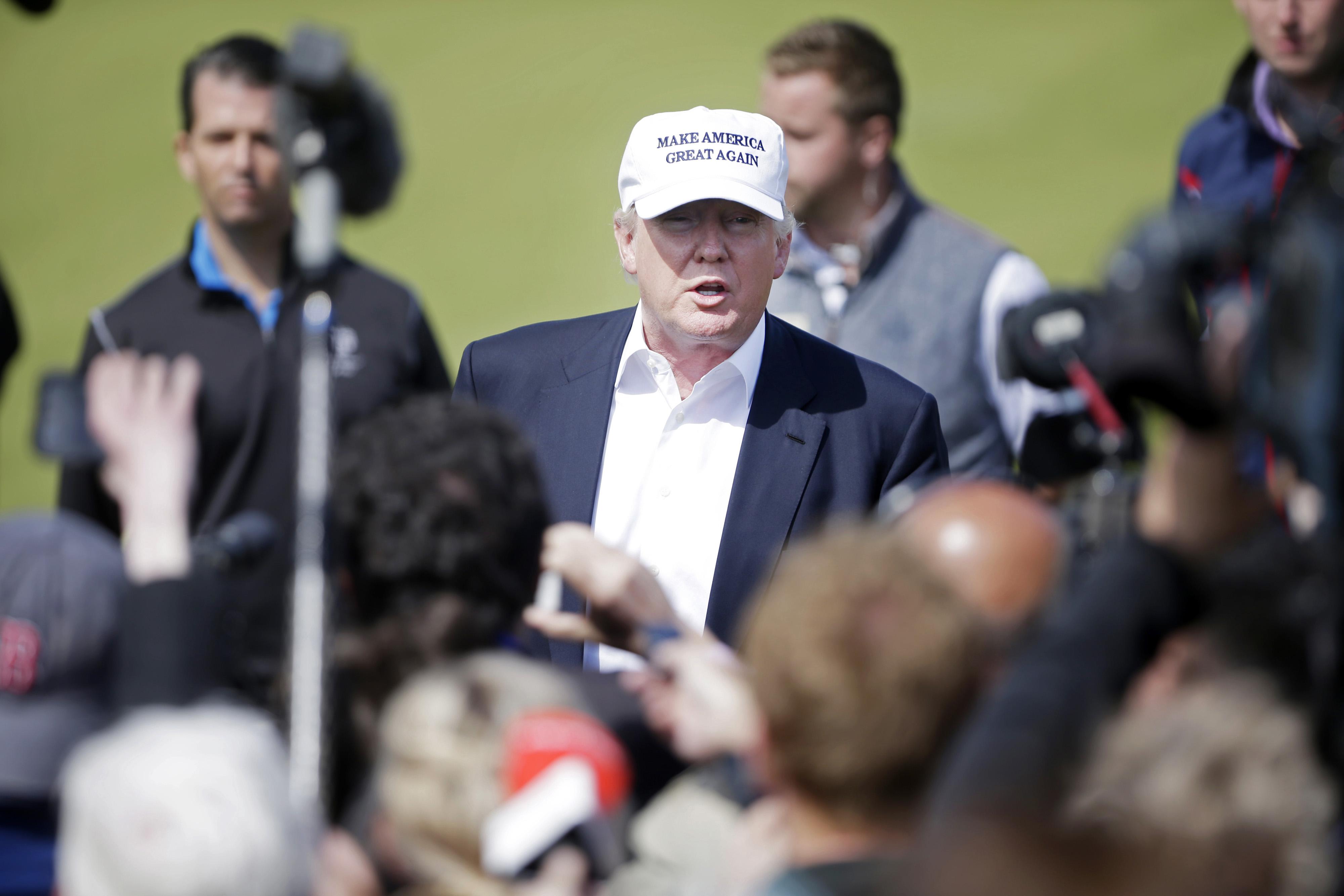 Presumptive Republican Presidential Nominee Donald Trump Re-Opens  Trump Turnberry Golf Course And Hotel Following Refurbishment