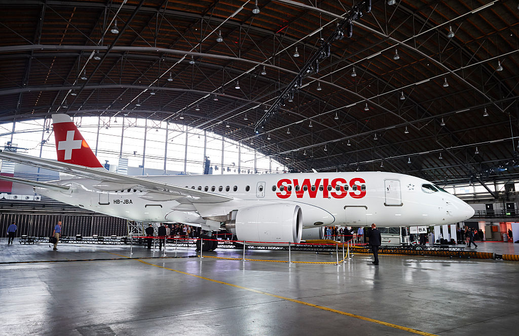 SWITZERLAND-TRANSPORT-AVIATION