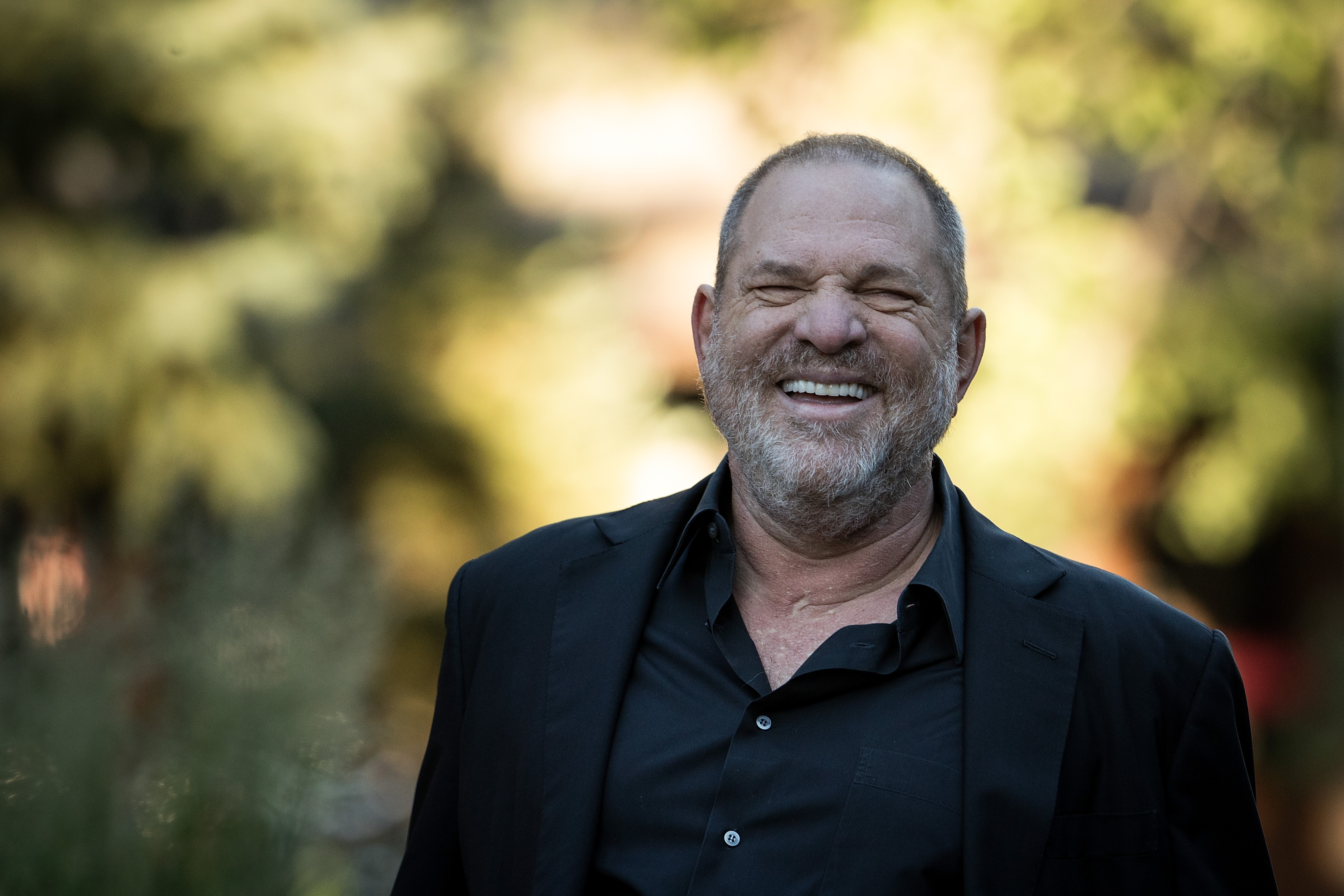 Harvey Weinstein attends the second day of the annual Allen & Company Sun Valley Conference, July 12, 2017 in Sun Valley, Idaho.