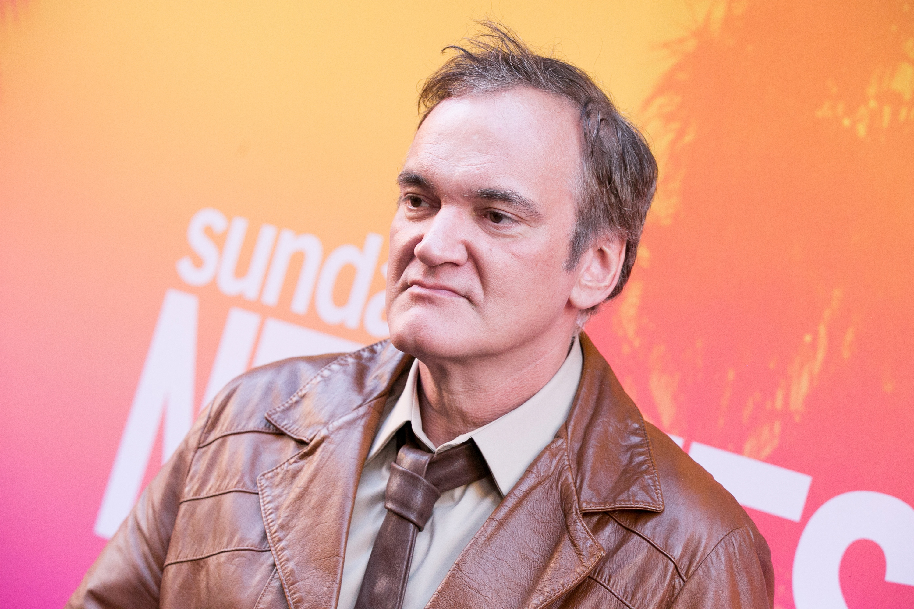 Quentin Tarantino arrives for Sundance NEXT FEST Opening Night Honoring Quentin Tarantino at The Theater at The Ace Hotel on August 10, 2017 in Los Angeles, California.