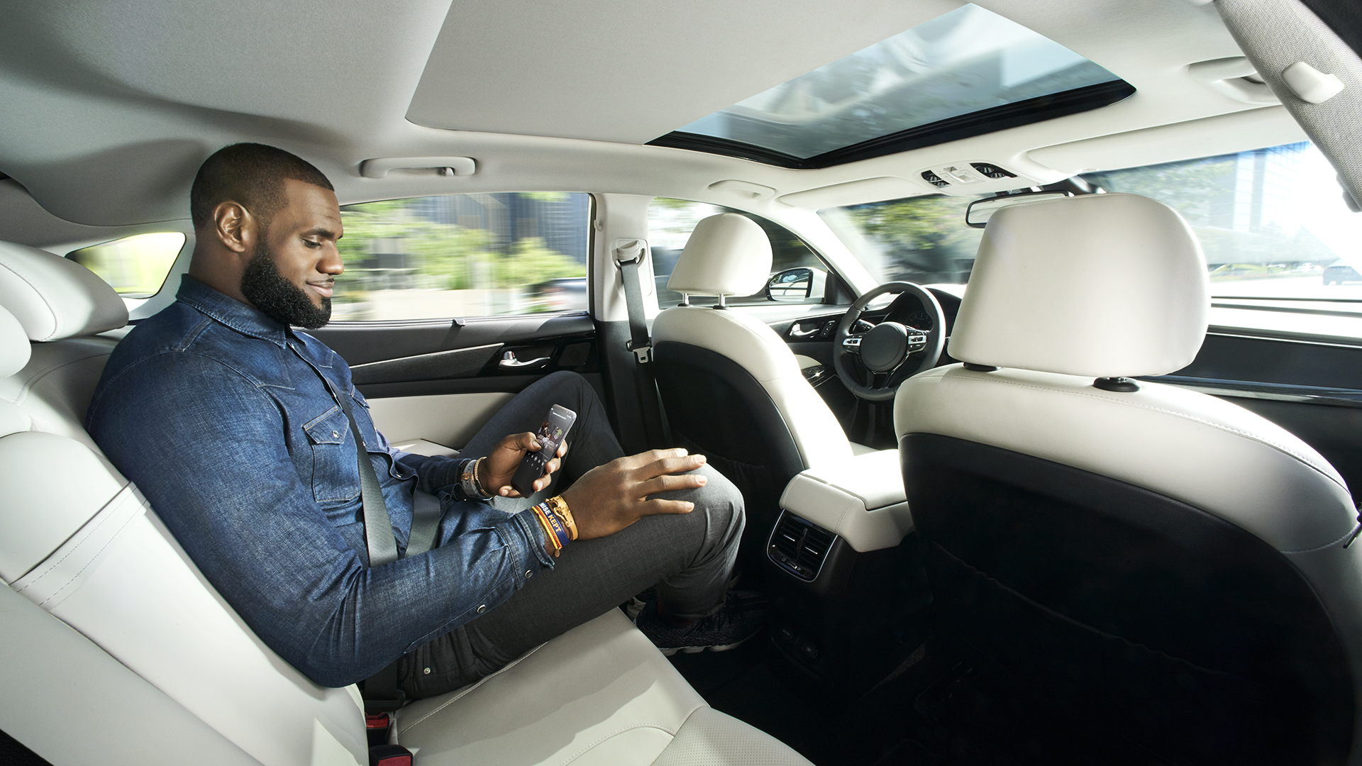 NBA star LeBron James is featured in an Intel ad that aims to build trust in self-driving cars.